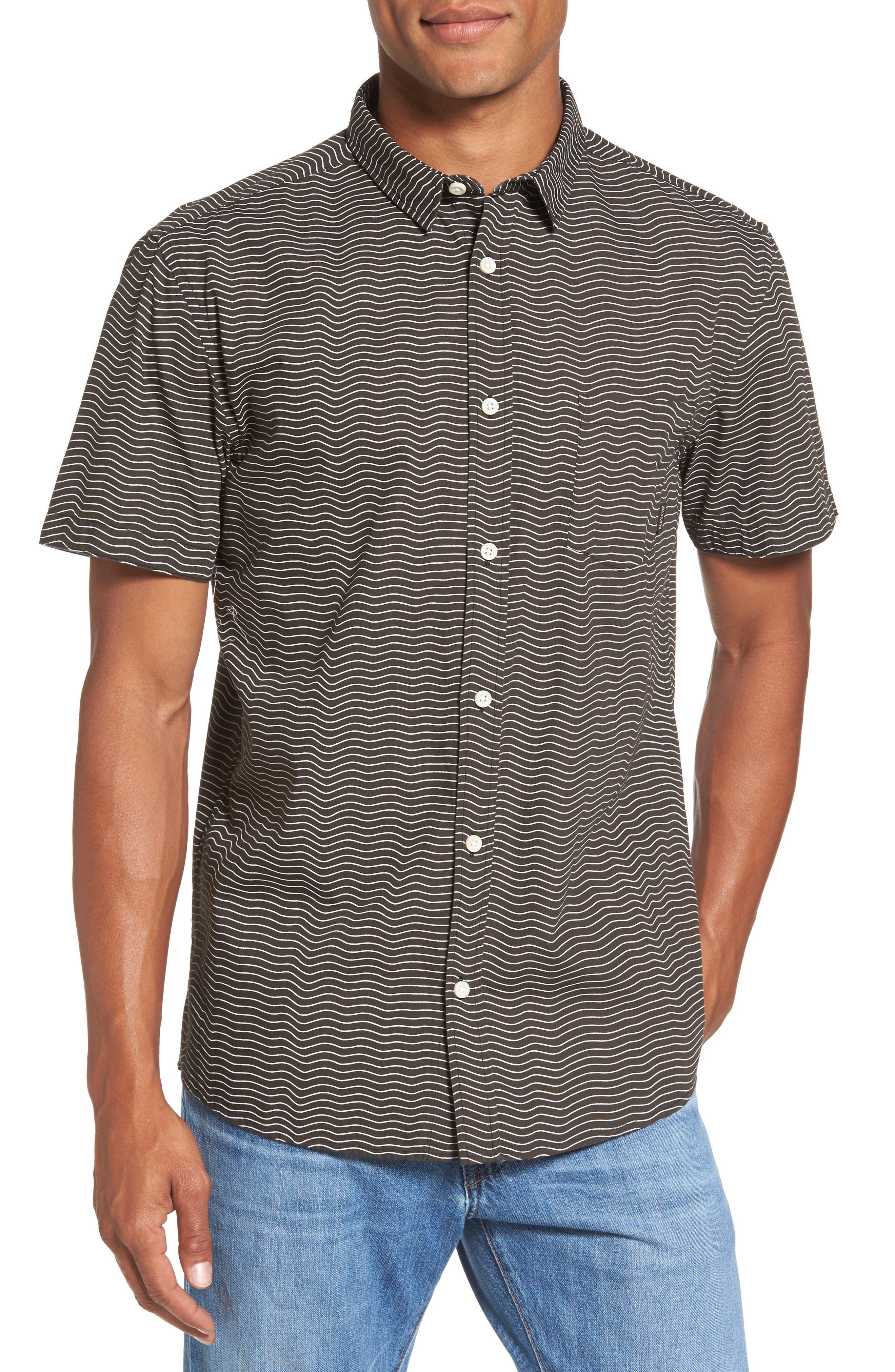 Heat Wave Stripe Shirt,                         Main,                         color, 002