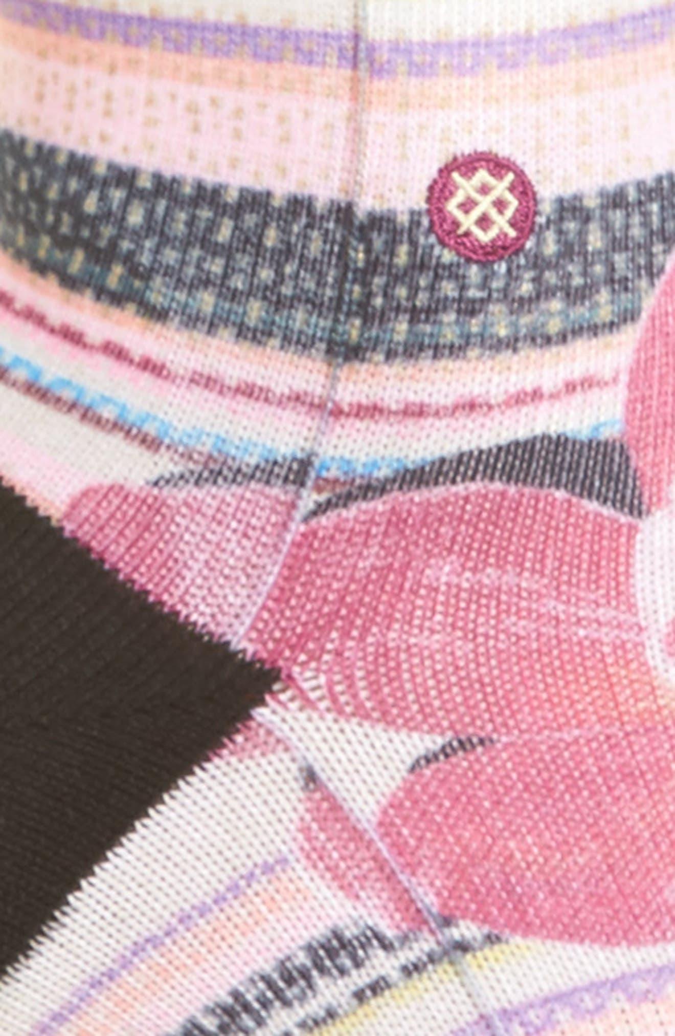 Santorini Tomboy Crew Socks,                             Alternate thumbnail 2, color,