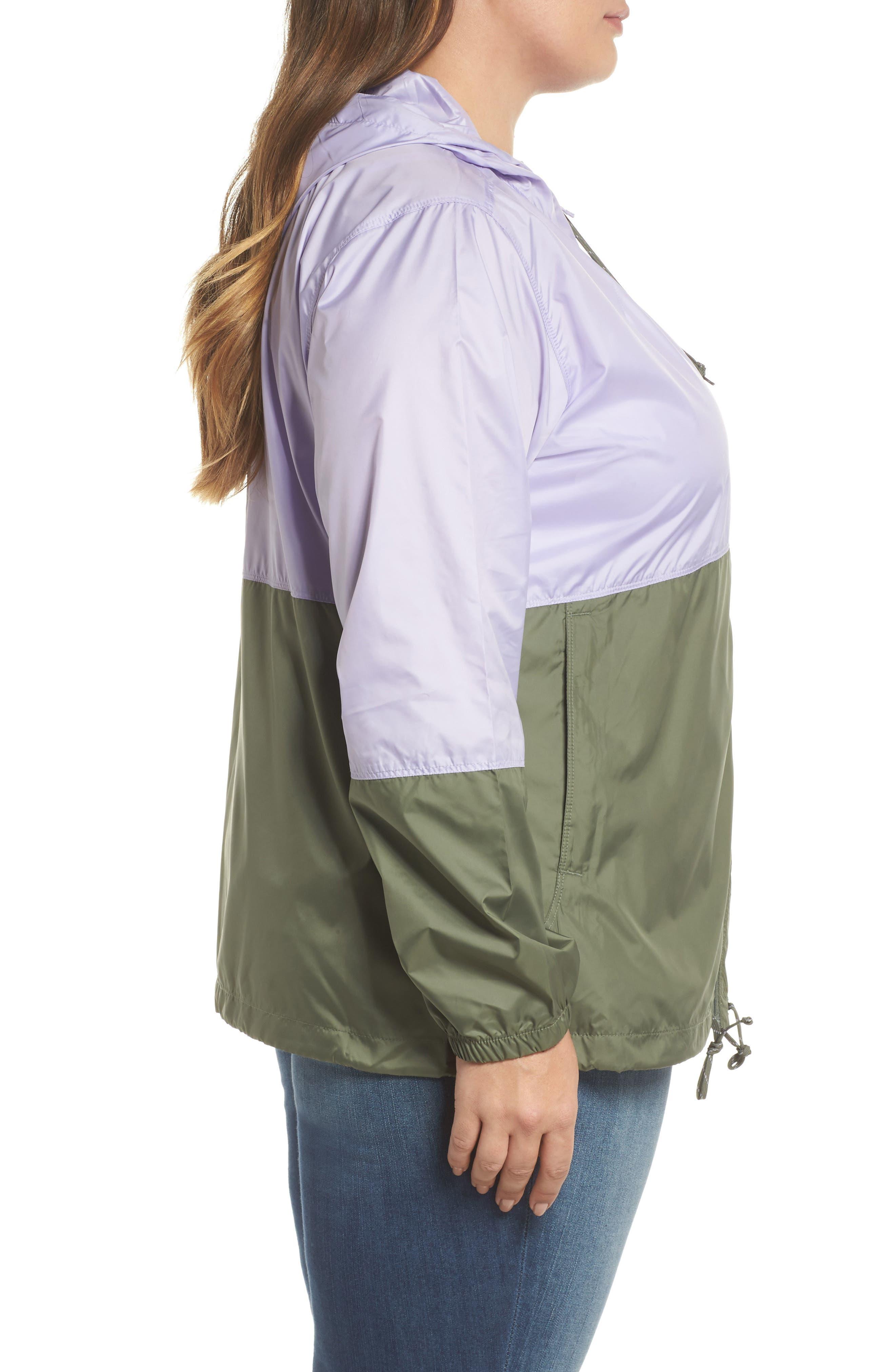 'Flash Forward<sup>™</sup>' Windbreaker Jacket,                             Alternate thumbnail 3, color,                             505