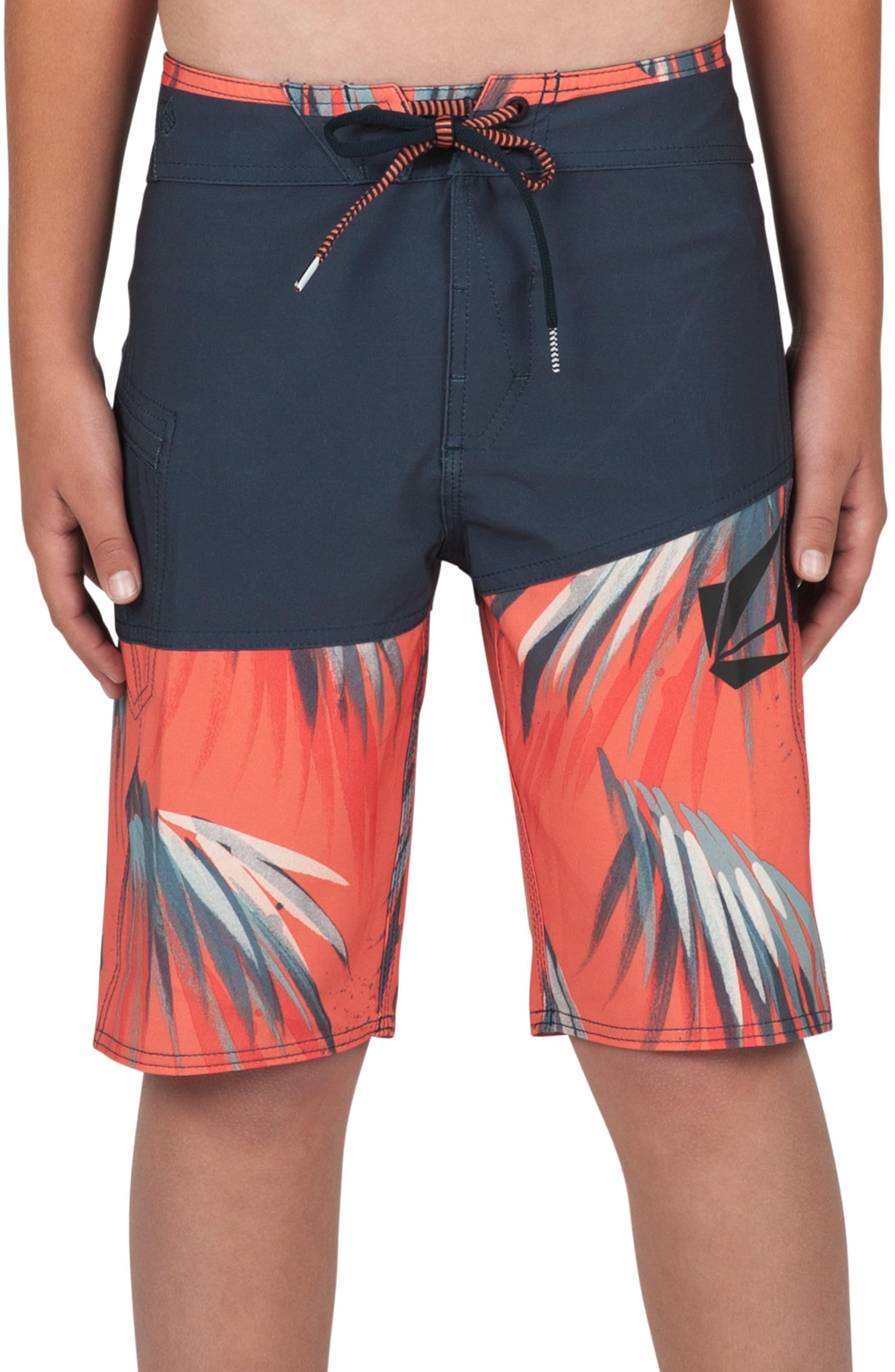 Asymmetrical Mod Board Shorts,                         Main,                         color, 400
