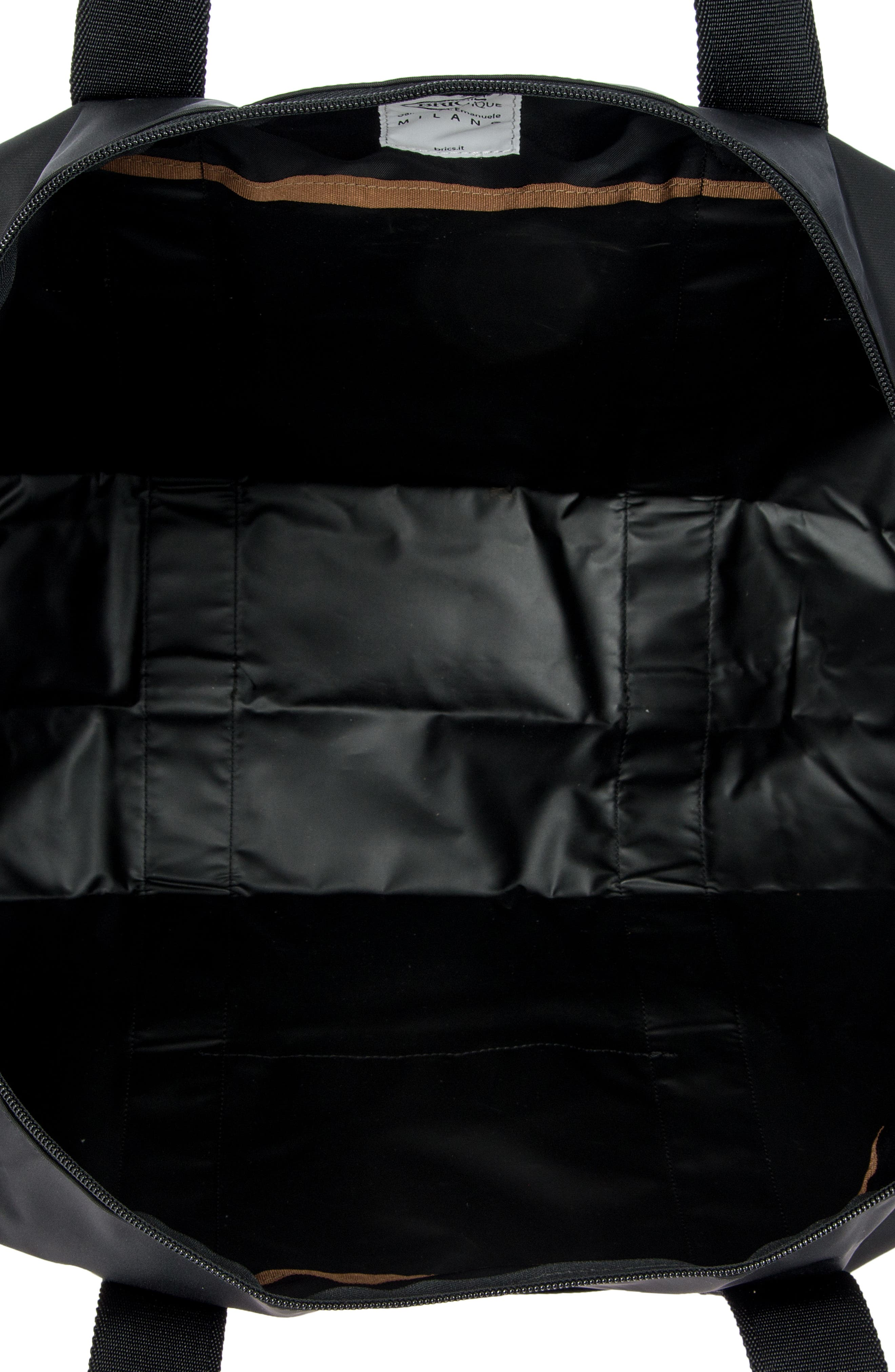X-Bag 22-Inch Folding Duffel Bag,                             Alternate thumbnail 3, color,                             BLACK