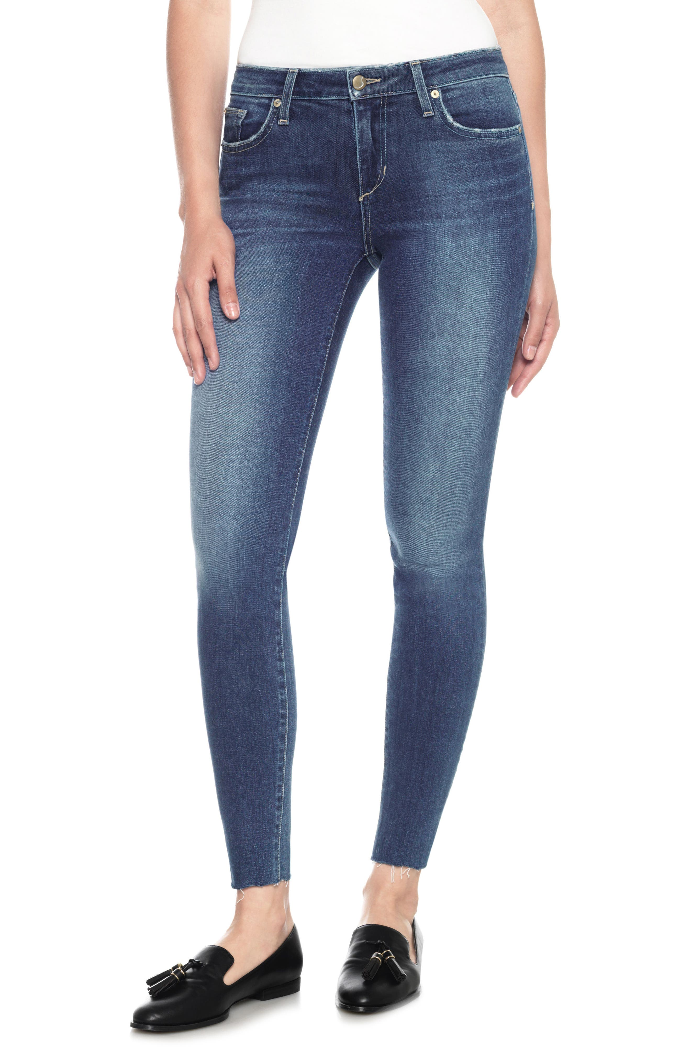 Icon Ankle Skinny Jeans,                             Main thumbnail 1, color,                             411
