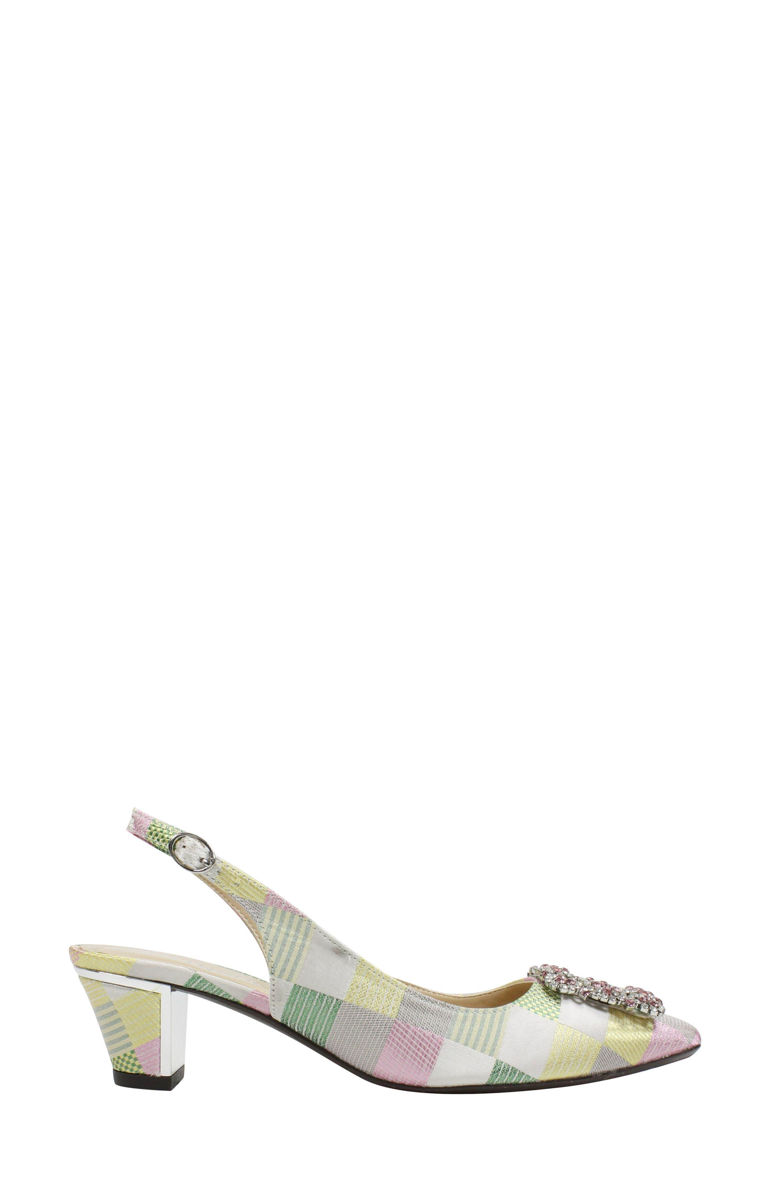 Charee Slingback Pump,                             Alternate thumbnail 3, color,                             650