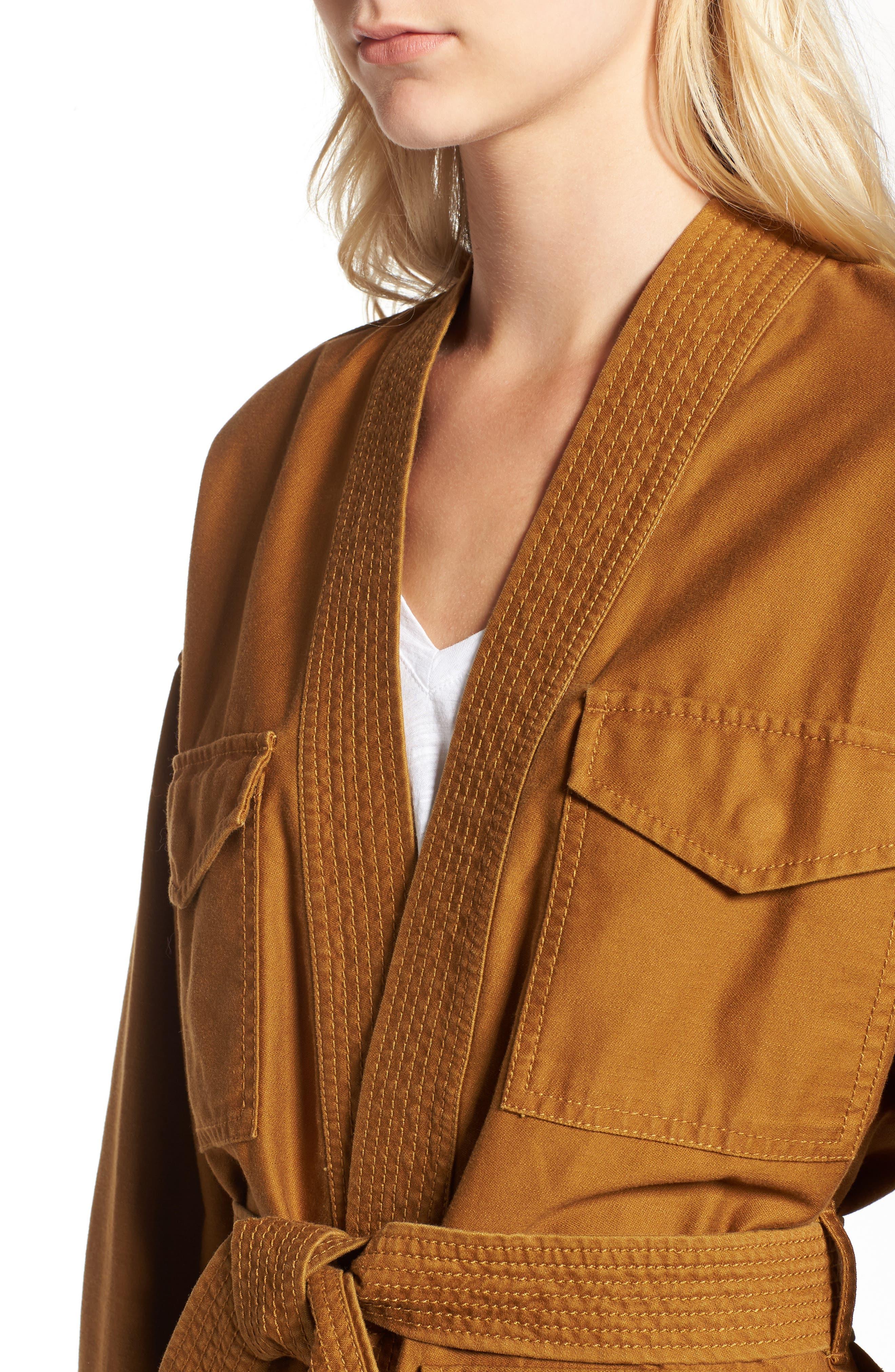 Kimono Jacket,                             Alternate thumbnail 4, color,                             200