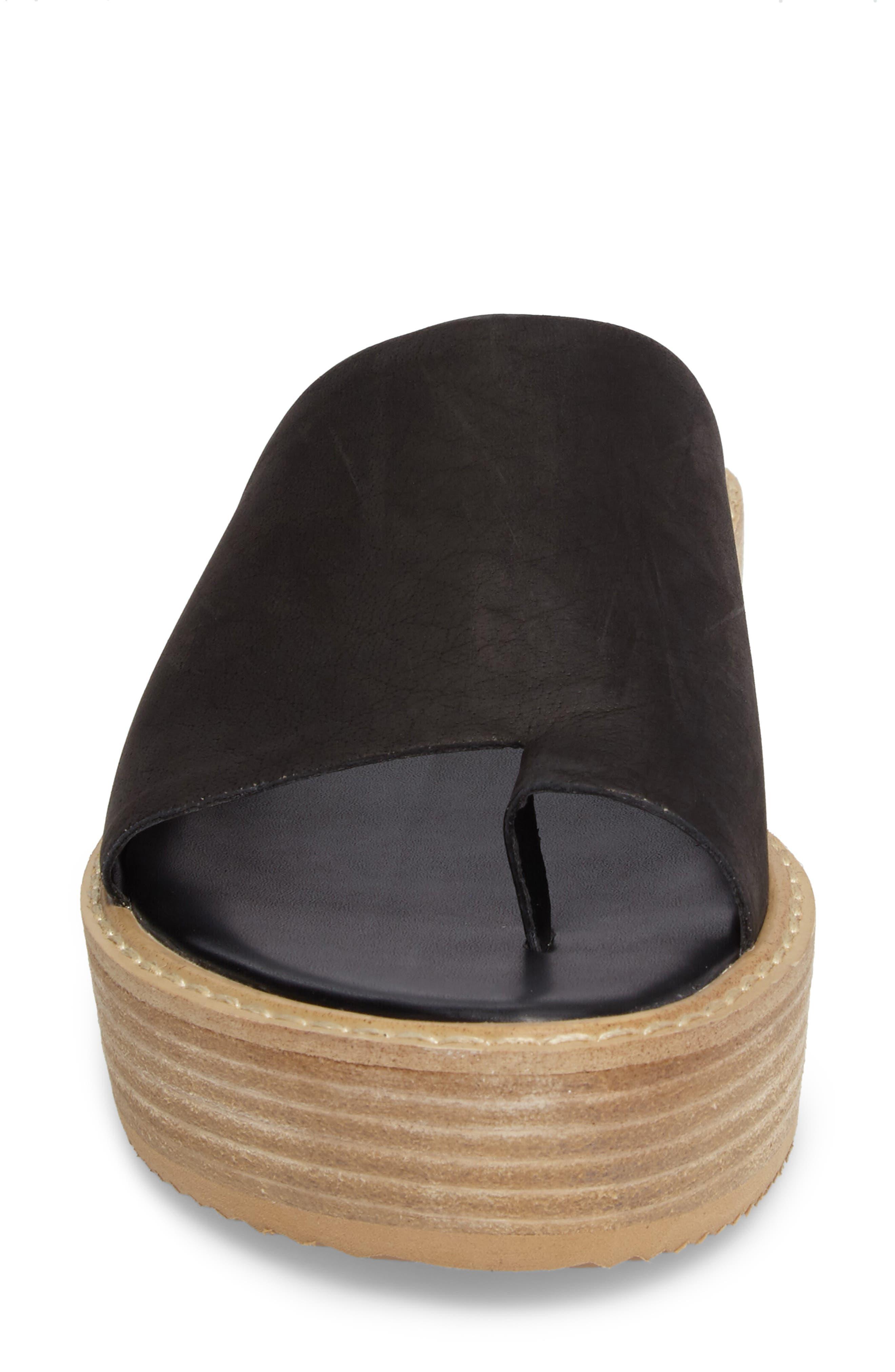 Energy Platform Sandal,                             Alternate thumbnail 4, color,                             001