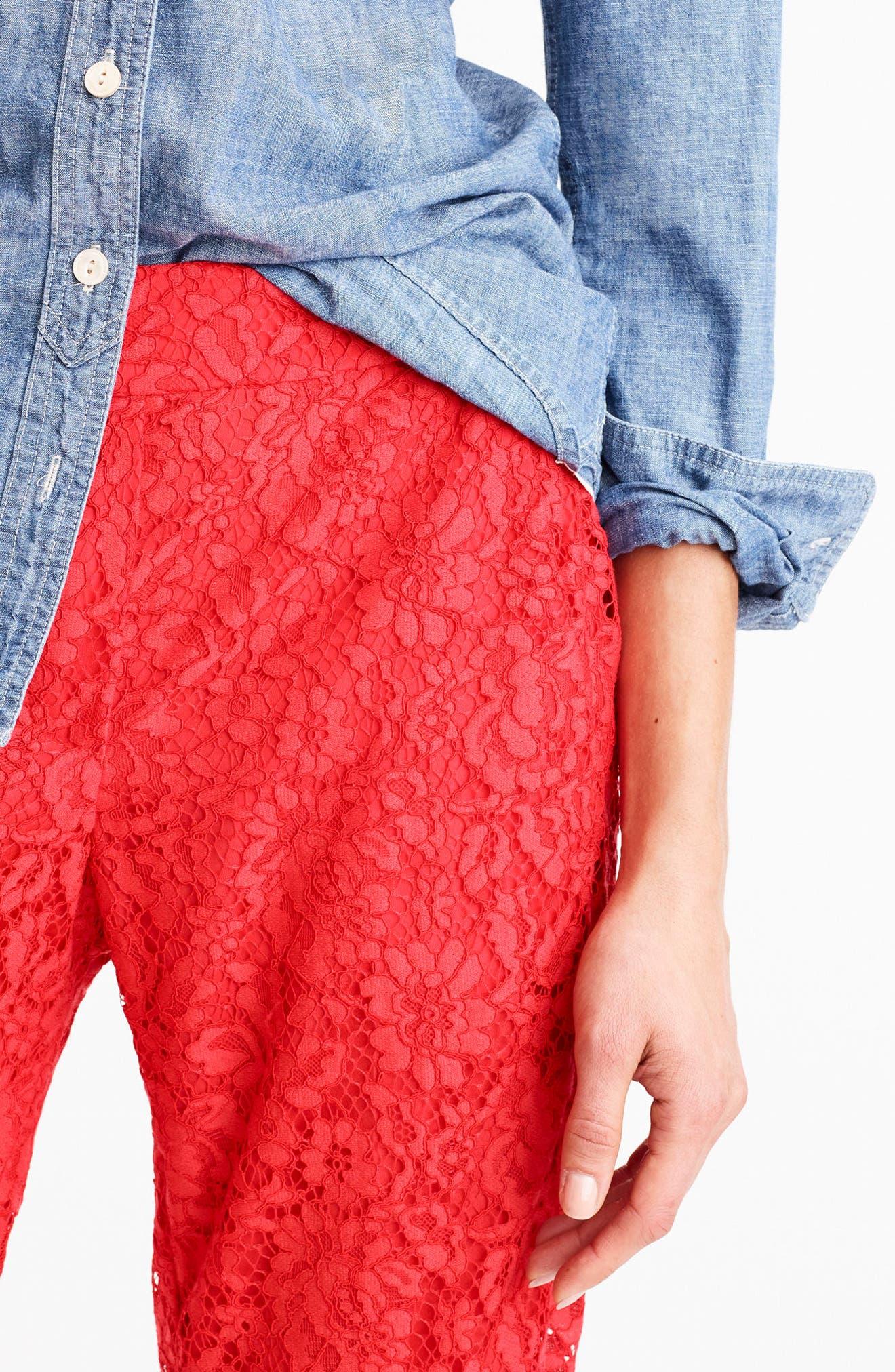 Lace Pants,                             Alternate thumbnail 8, color,