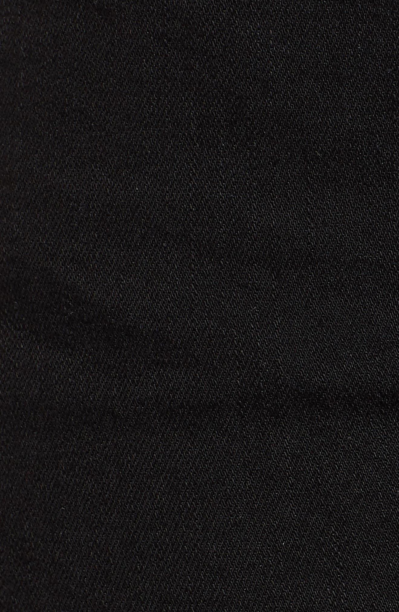 The Charmer Fray Denim Shorts,                             Alternate thumbnail 6, color,