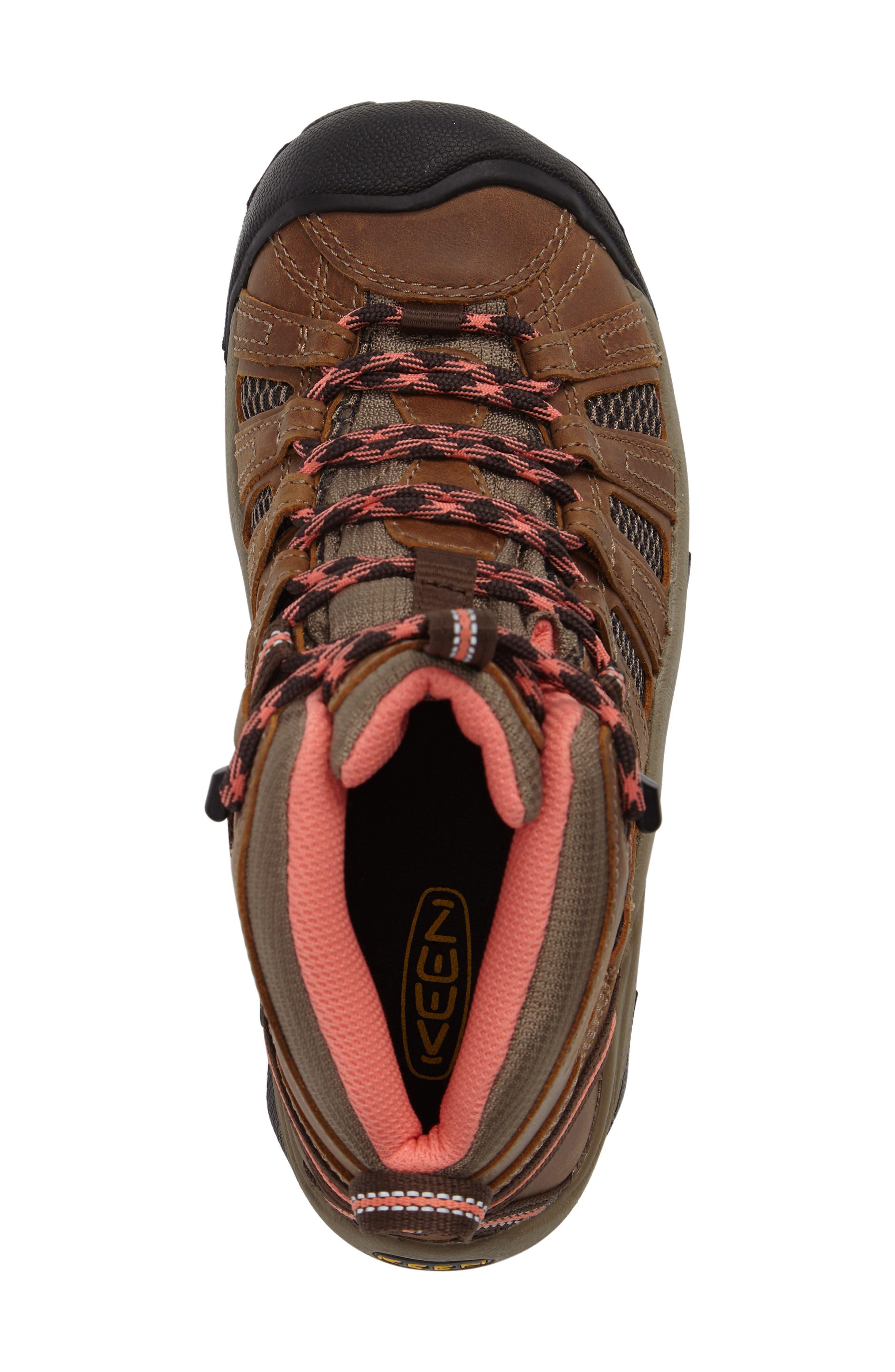 'Voyageur Mid' Trail Shoe,                             Alternate thumbnail 5, color,                             202