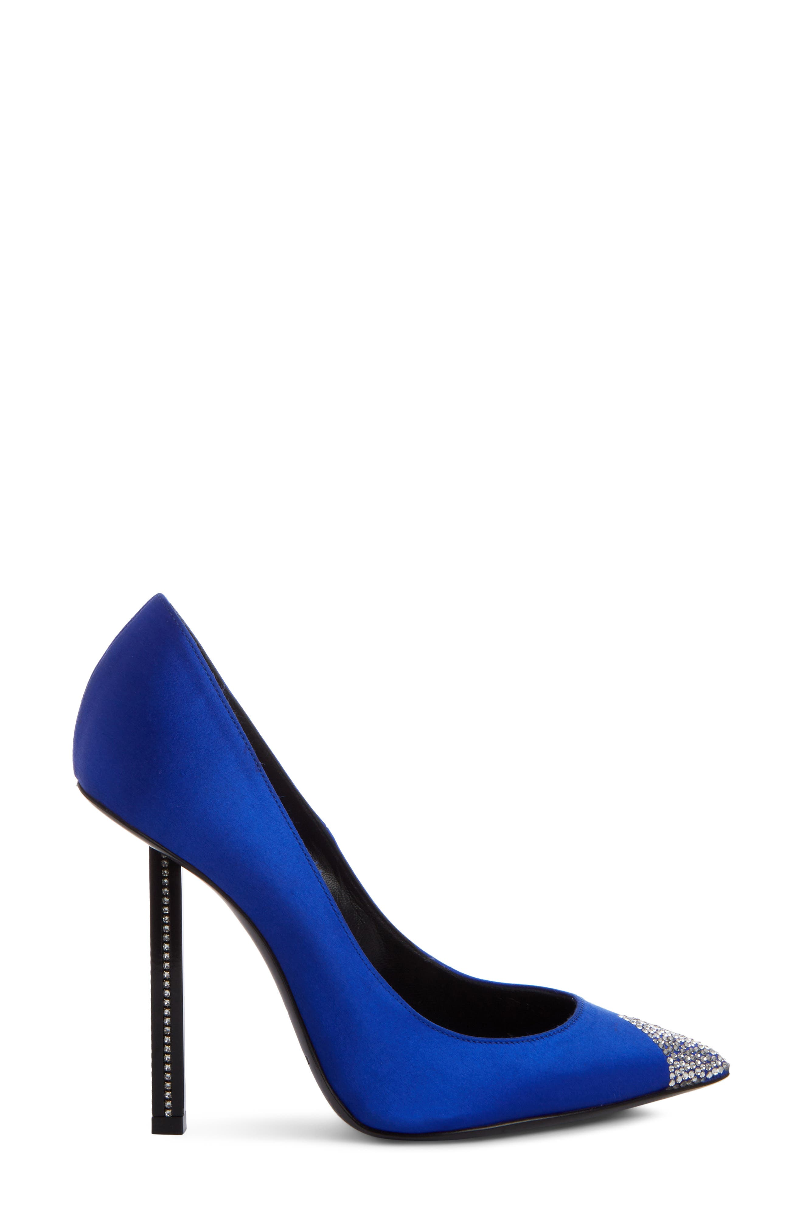 Tower Crystal Pointy Toe Pump,                             Alternate thumbnail 3, color,                             400