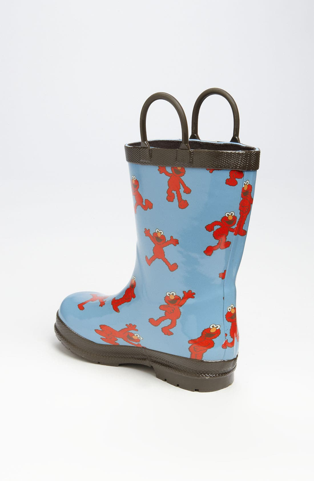 'Sesame Street<sup>®</sup> - Elmo' Rain Boot,                             Alternate thumbnail 4, color,                             400