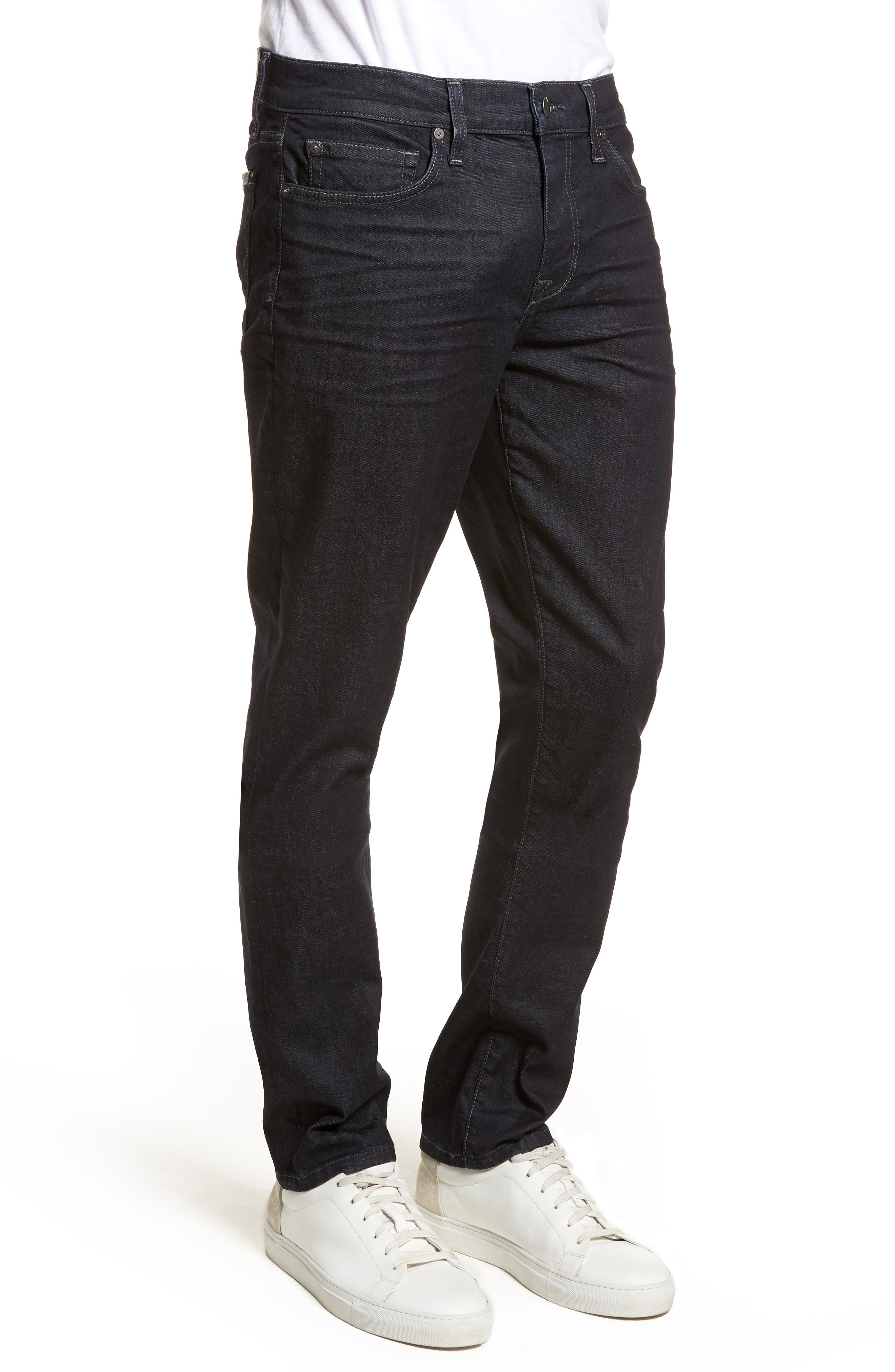 Slim Fit Jeans,                             Alternate thumbnail 3, color,                             400