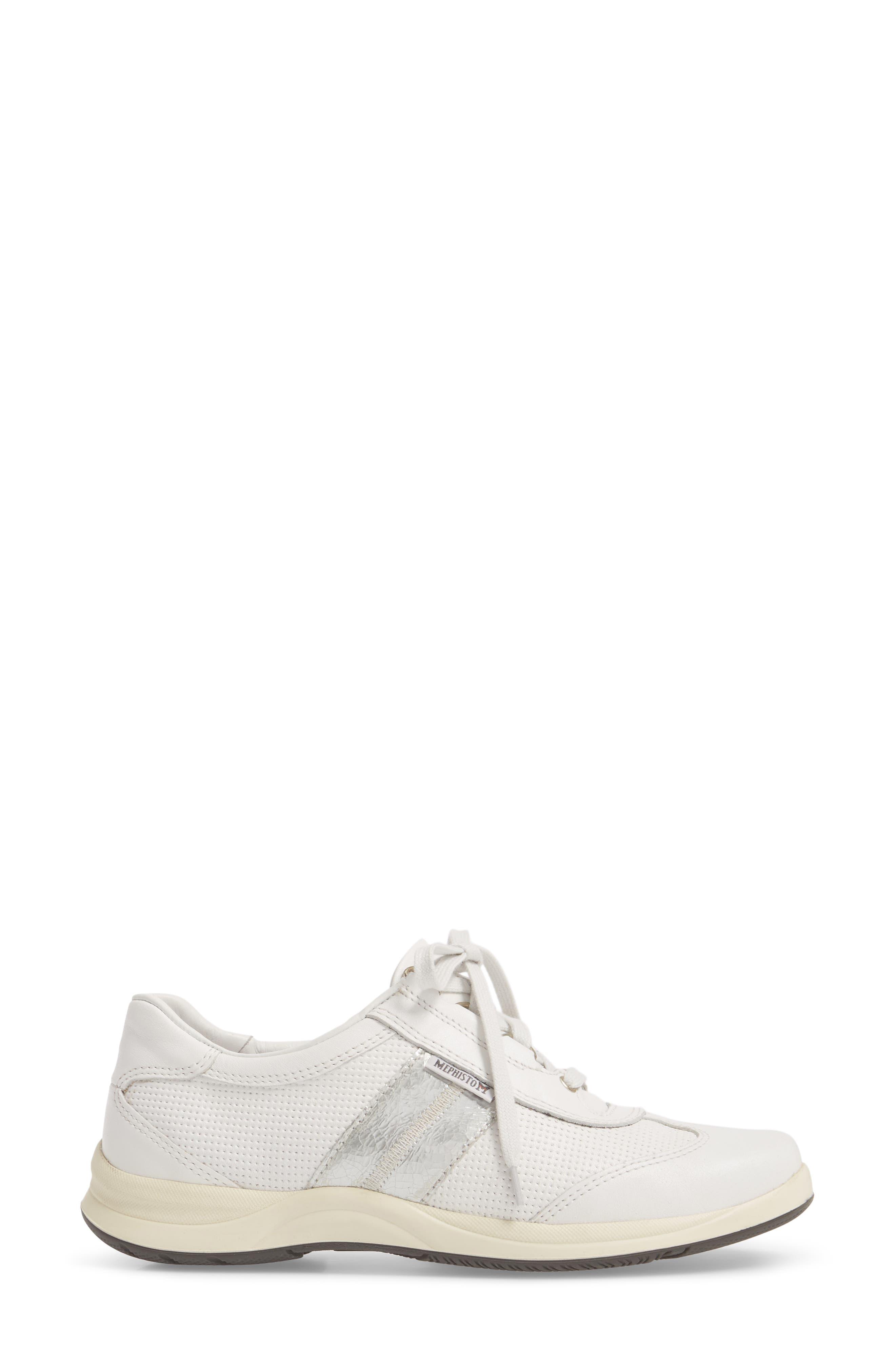 Laser Perforated Walking Shoe,                             Alternate thumbnail 17, color,