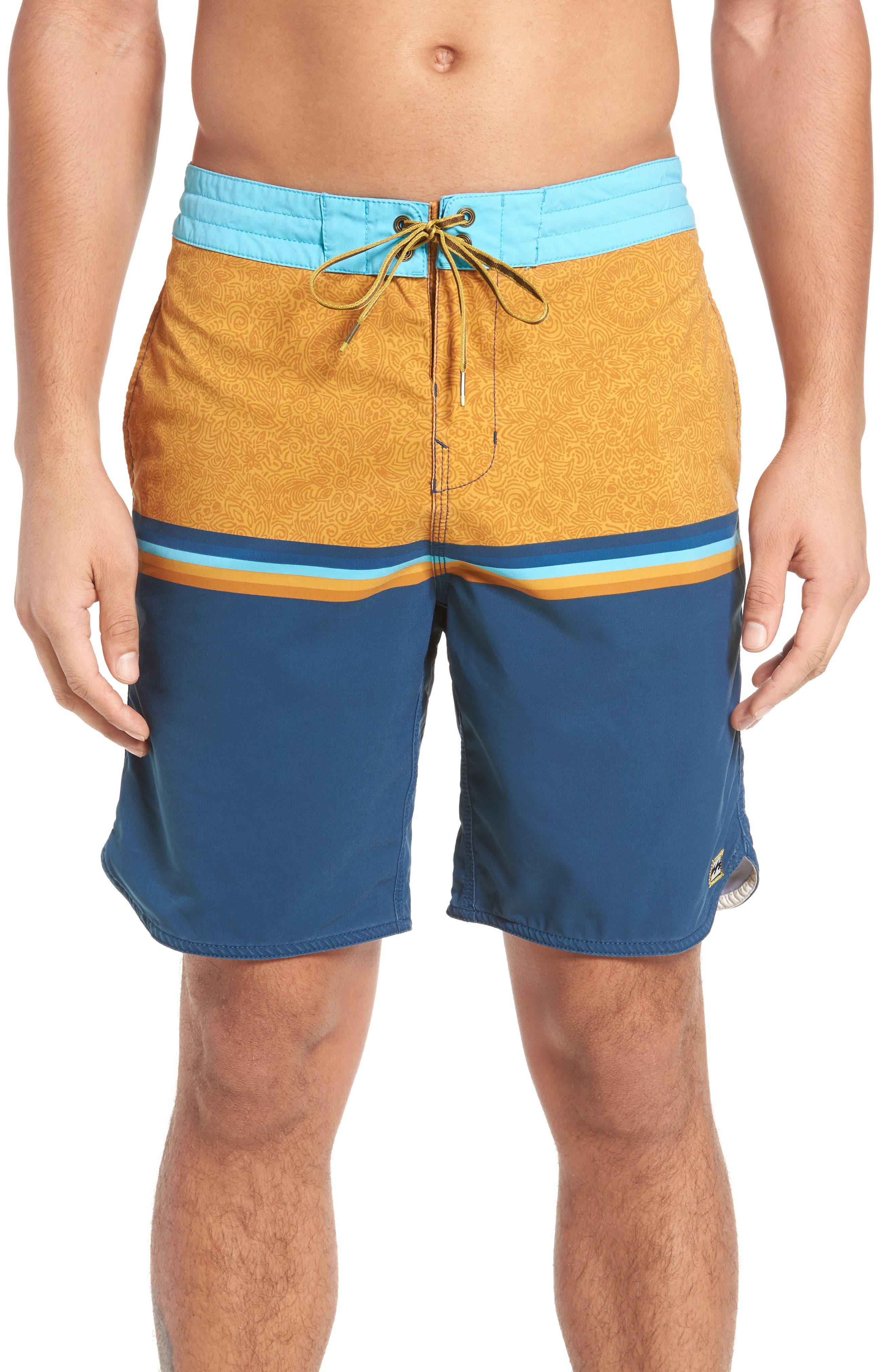 Fifty50 Low Tide Swim Trunks,                             Main thumbnail 4, color,