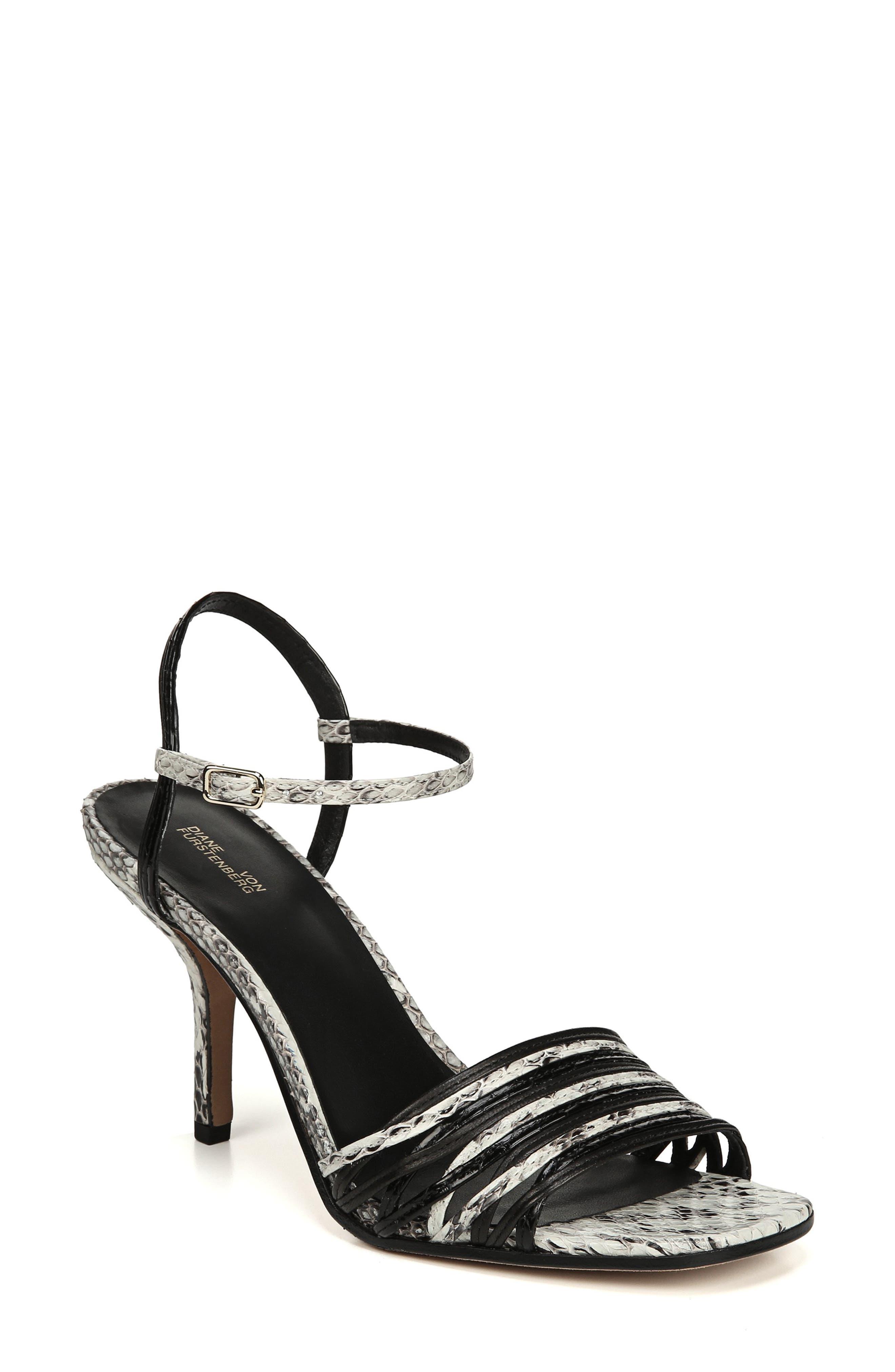 Federica Sandal,                         Main,                         color, BLACK/ SILVER