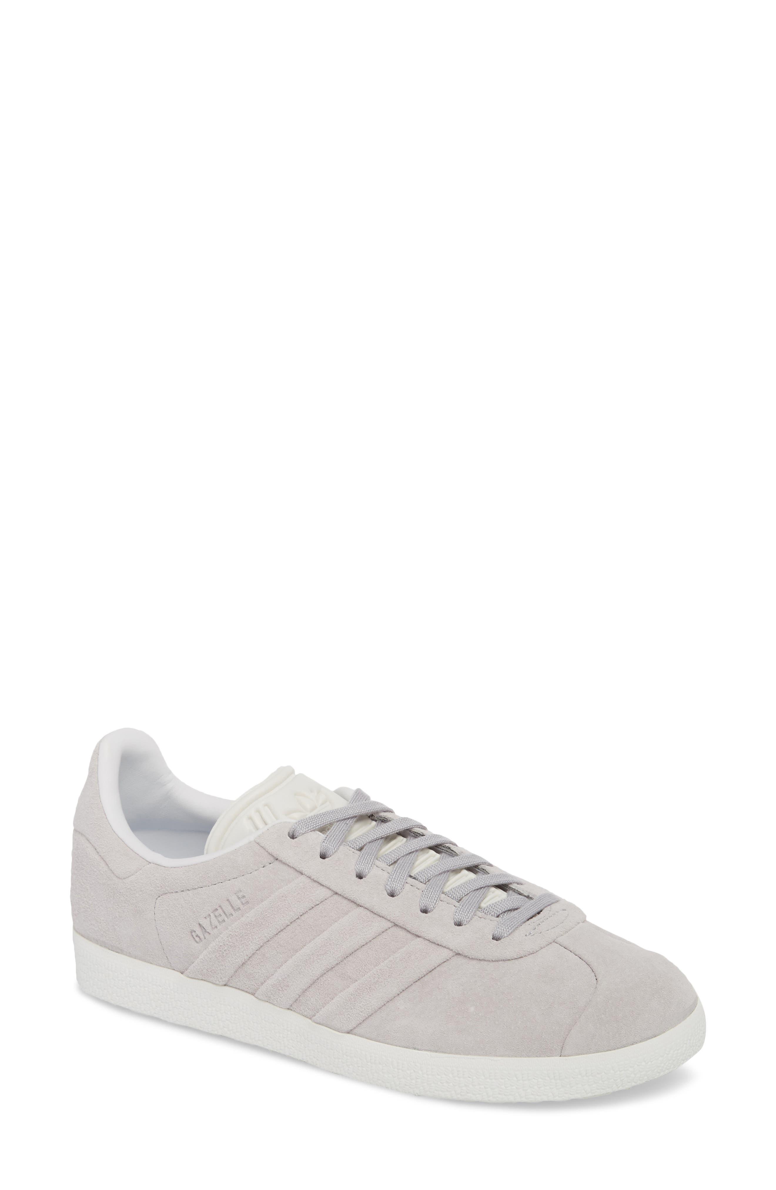 Gazelle Stitch & Turn Sneaker,                             Main thumbnail 1, color,                             GREY/ GREY/ WHITE