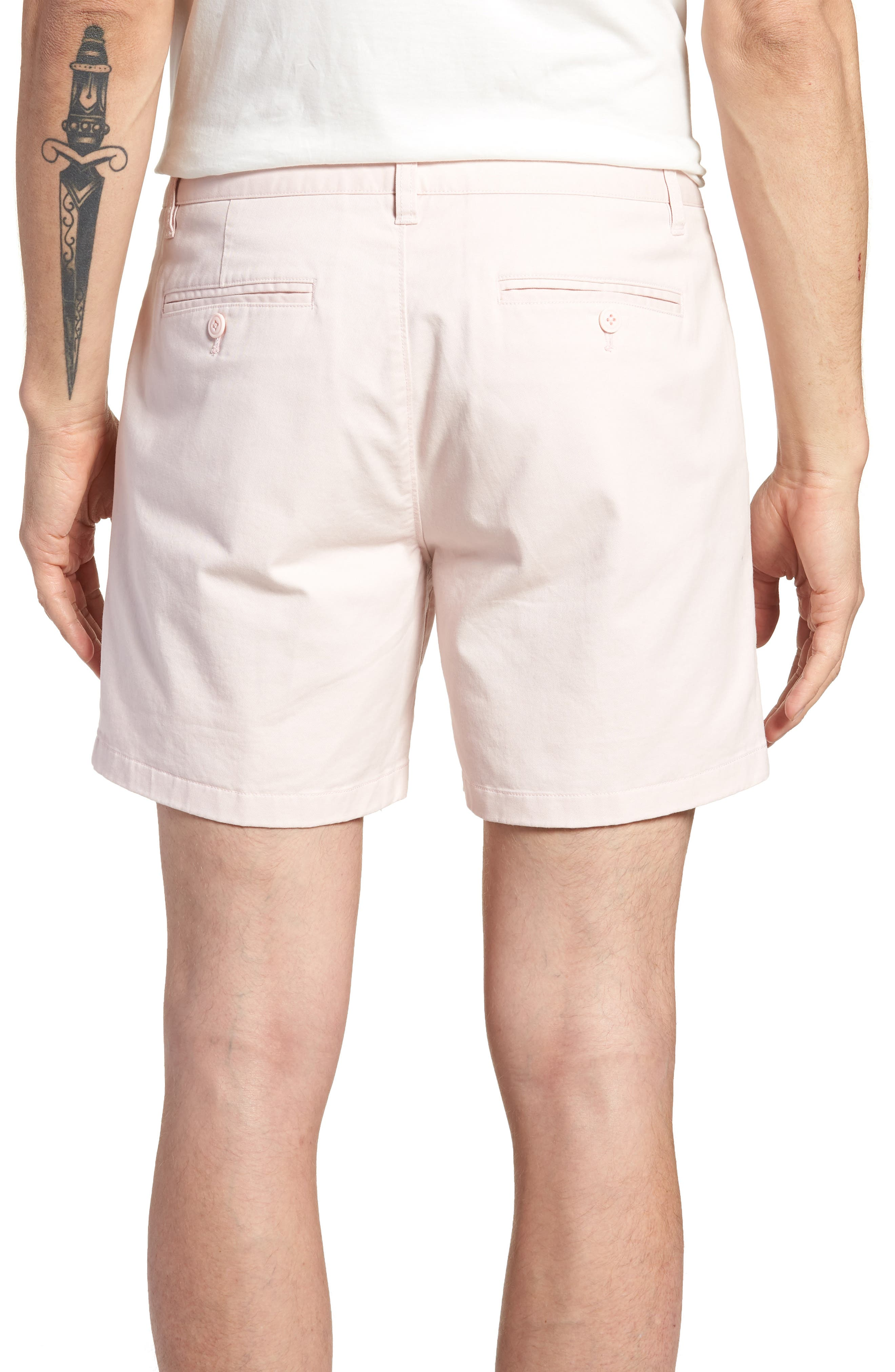 Stretch Washed Chino 5-Inch Shorts,                             Alternate thumbnail 45, color,