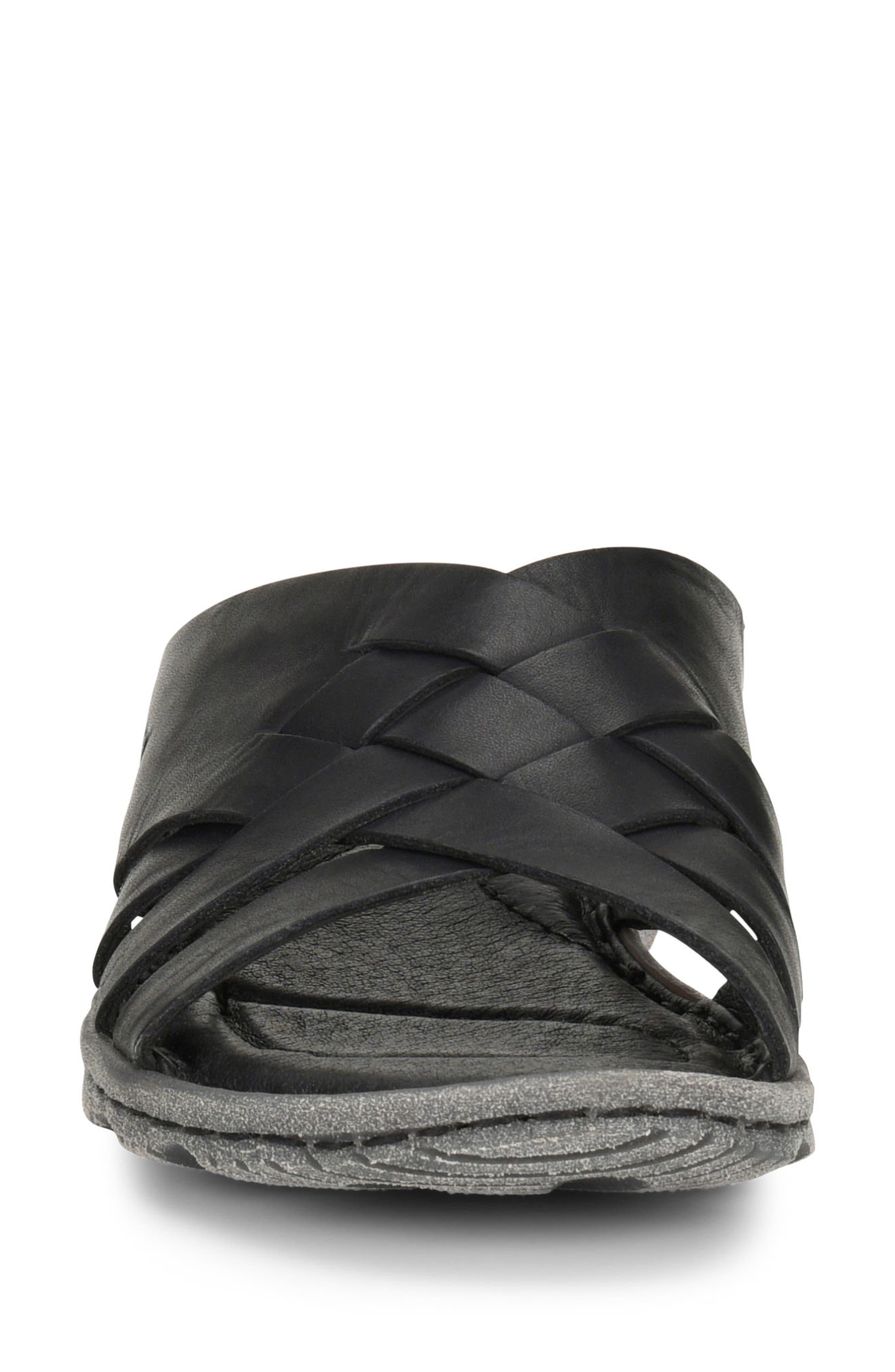Tarpon Slide Sandal,                             Alternate thumbnail 4, color,                             001