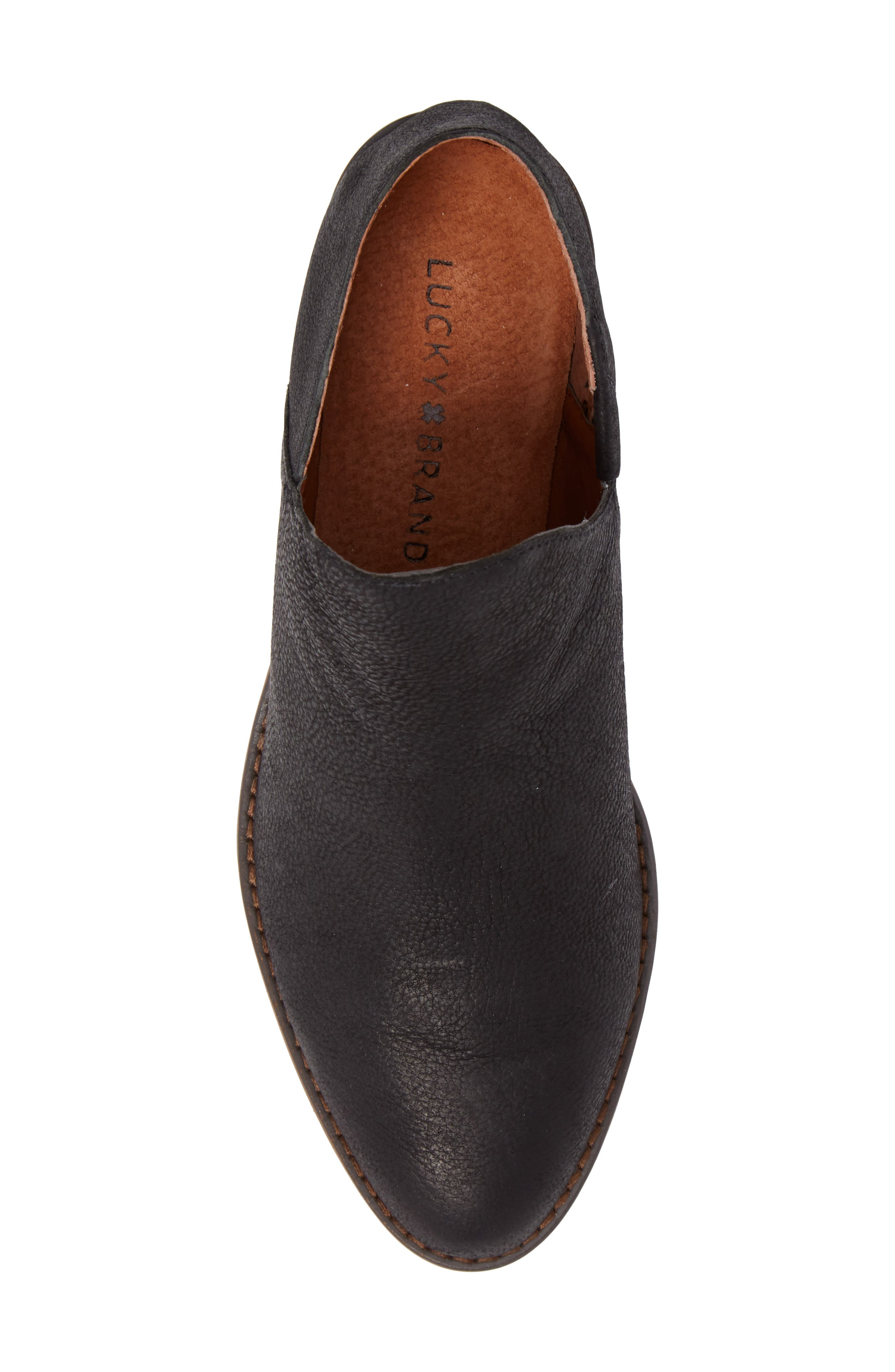 LUCKY BRAND,                             Fausst Bootie,                             Alternate thumbnail 5, color,                             001