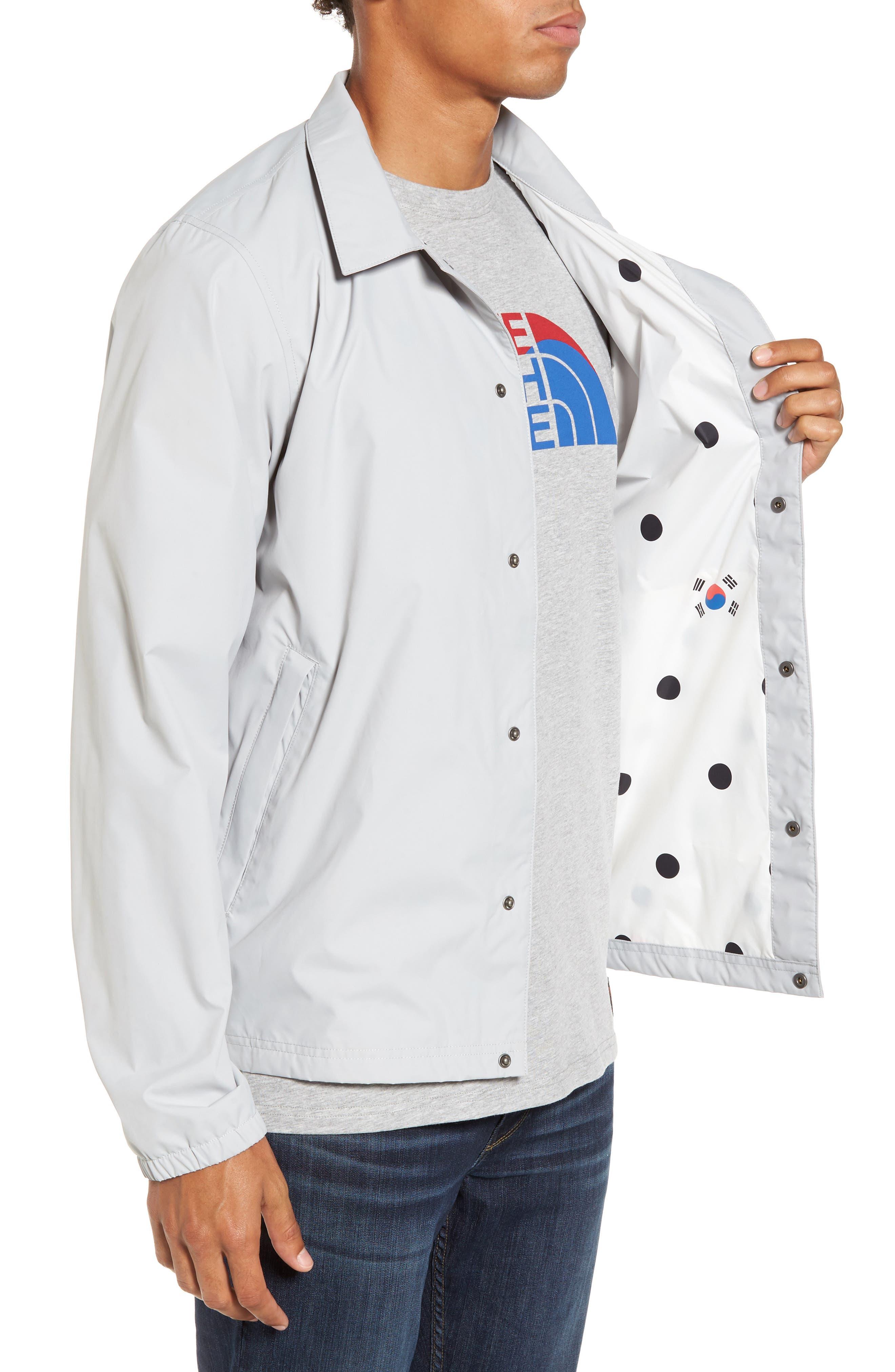 International Collection Coach Jacket,                             Alternate thumbnail 8, color,