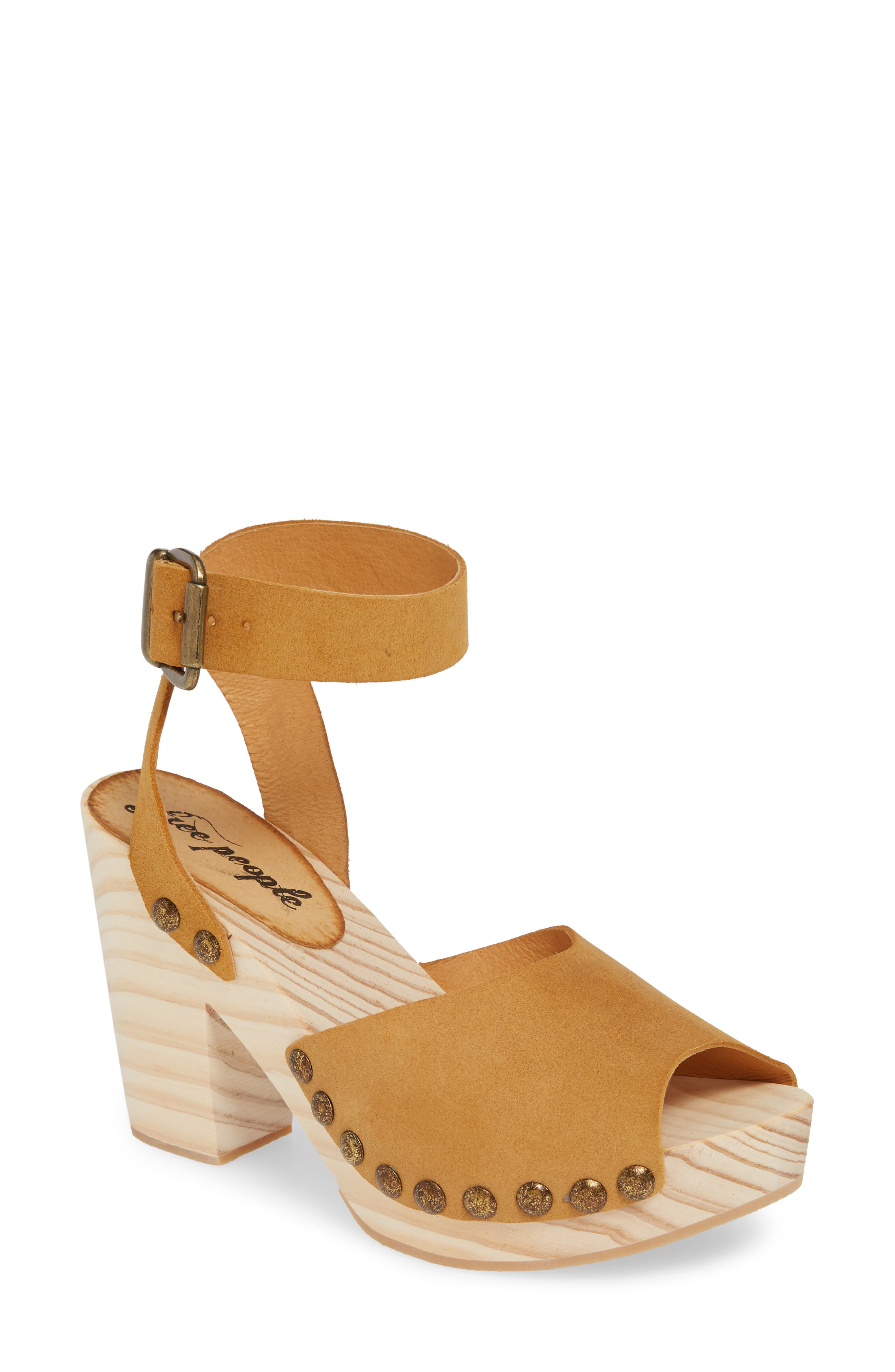 Free People Sandals PASADENA CLOG SANDAL