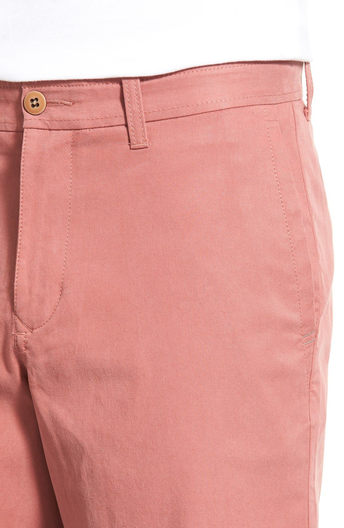 'Offshore' Flat Front Shorts,                             Alternate thumbnail 21, color,