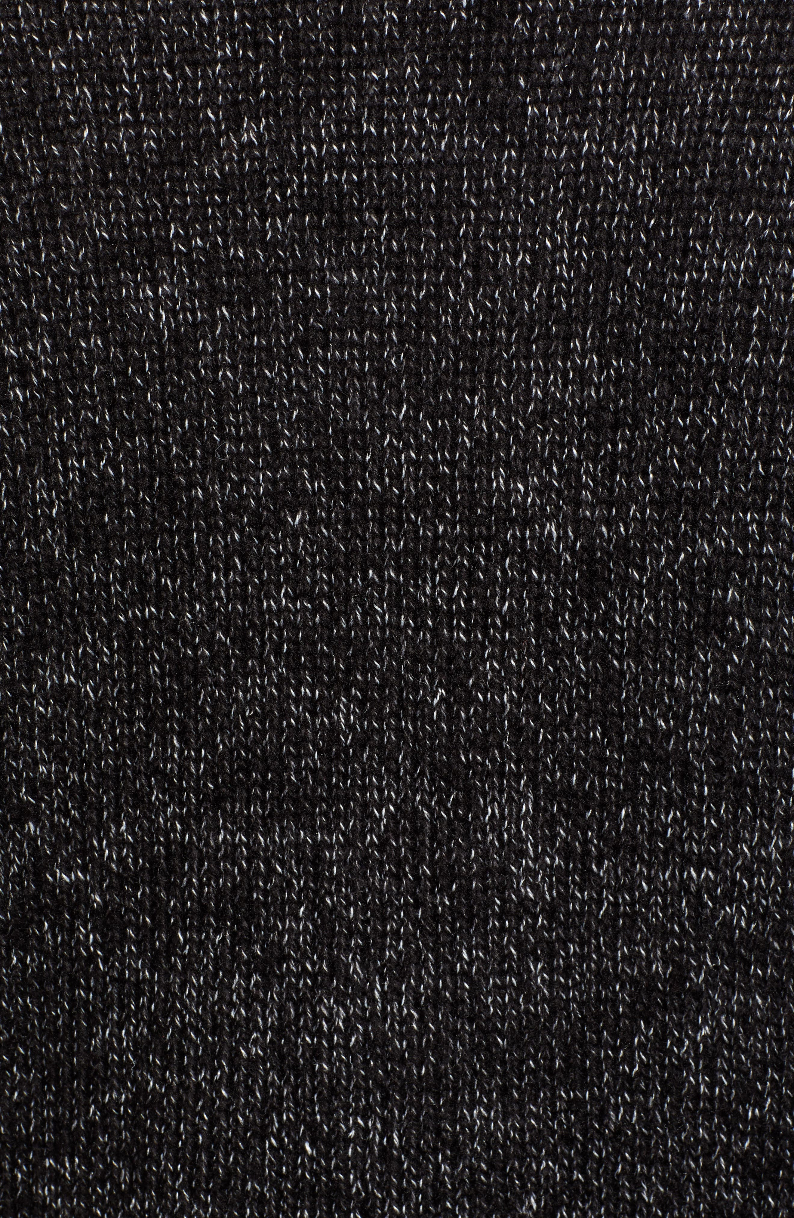 Cardigan,                             Alternate thumbnail 5, color,                             BK- BLACK
