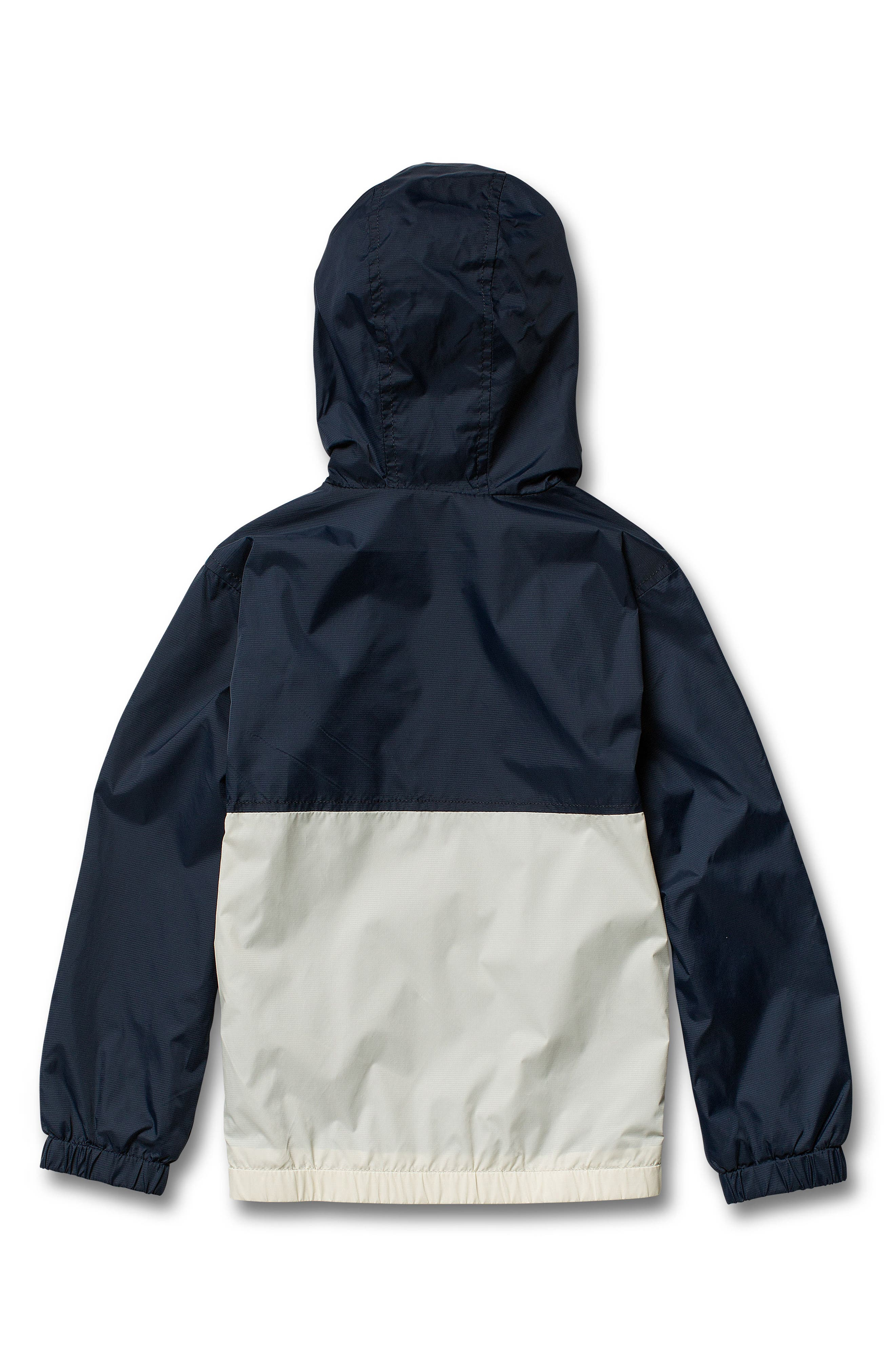 Ermont Hooded Nylon Jacket,                             Alternate thumbnail 2, color,                             MELINDIGO