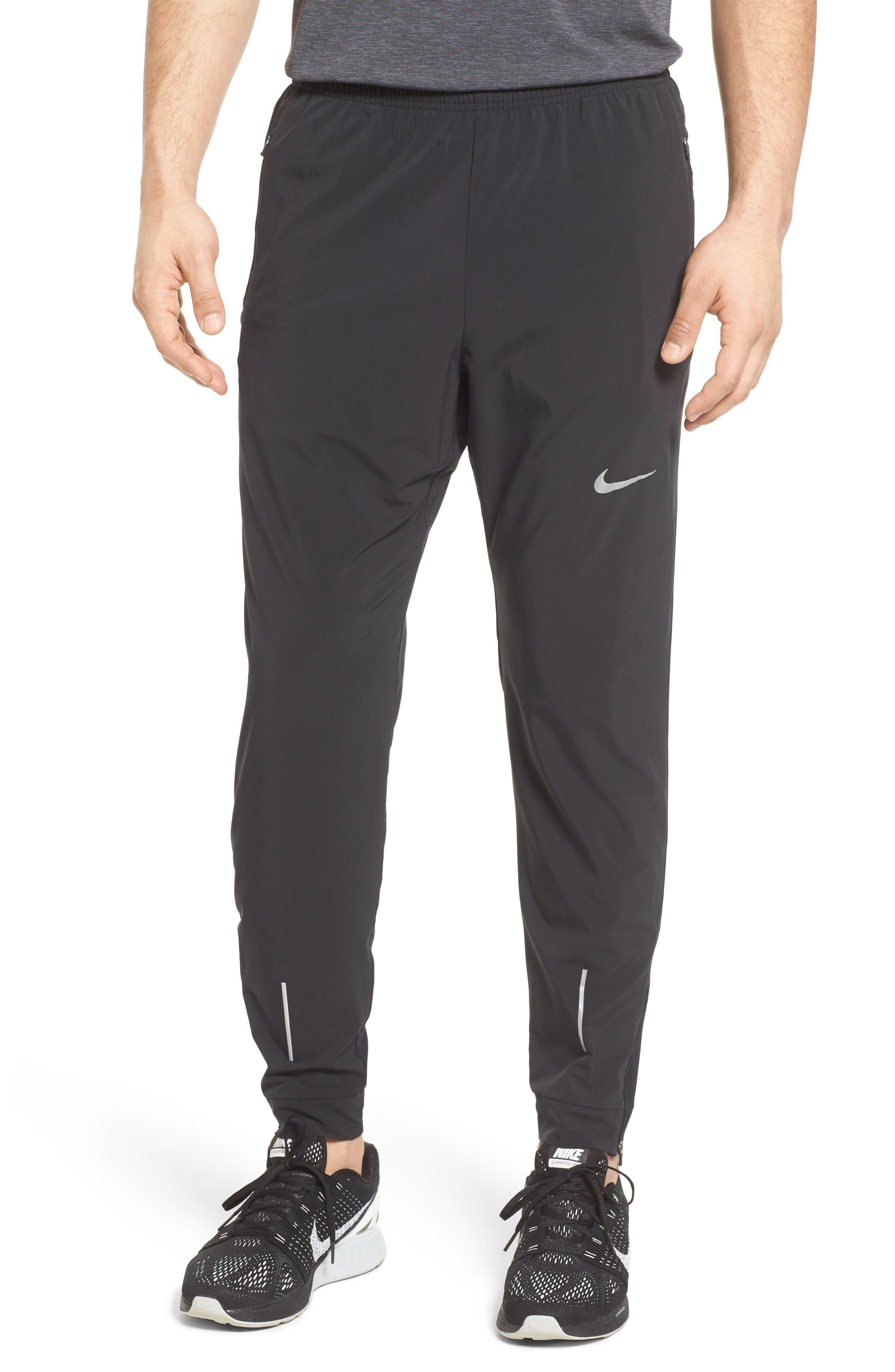 Essential Flex Running Pants,                             Main thumbnail 1, color,                             BLACK