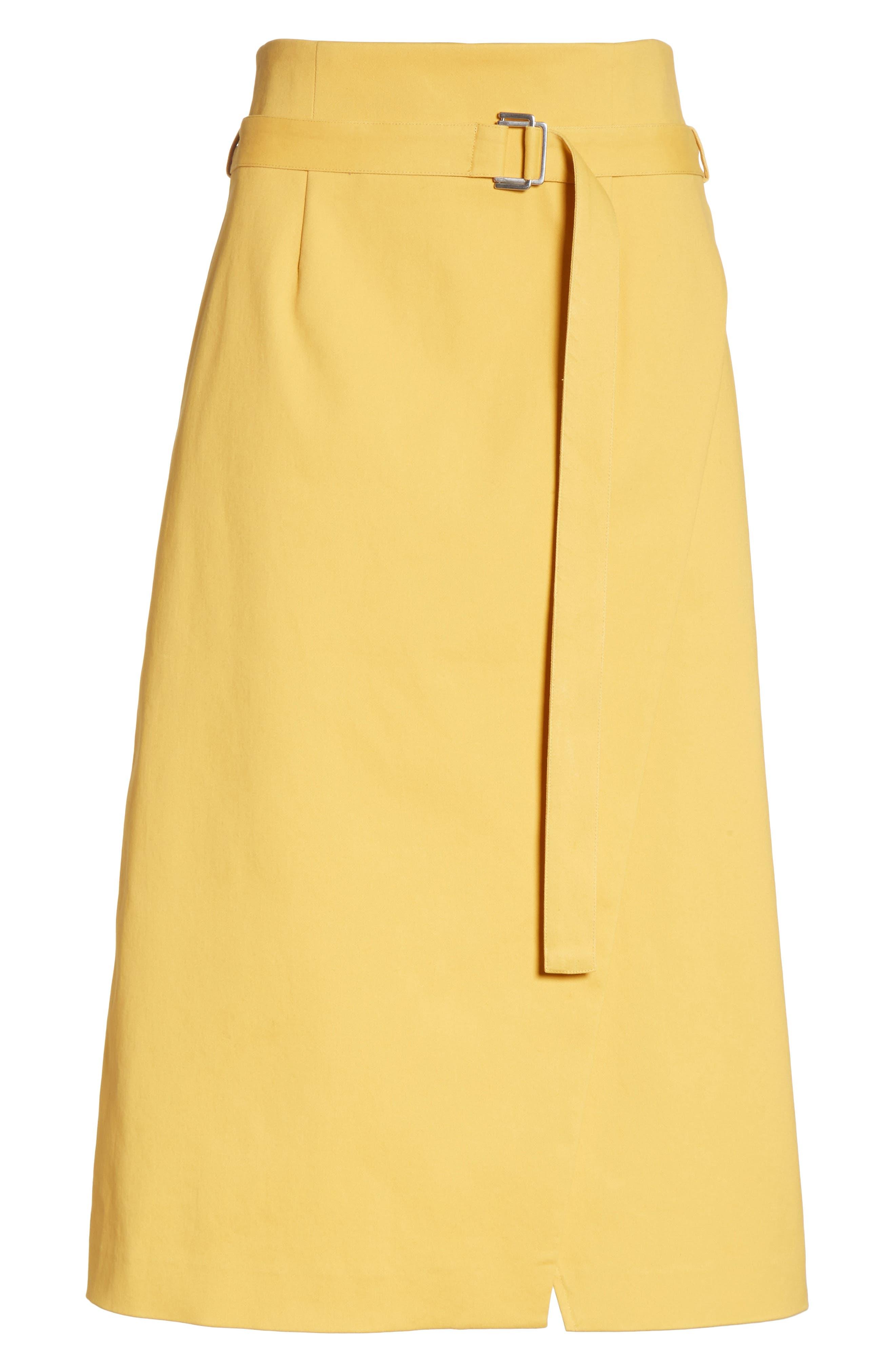 Belted Midi Skirt,                             Alternate thumbnail 6, color,                             700