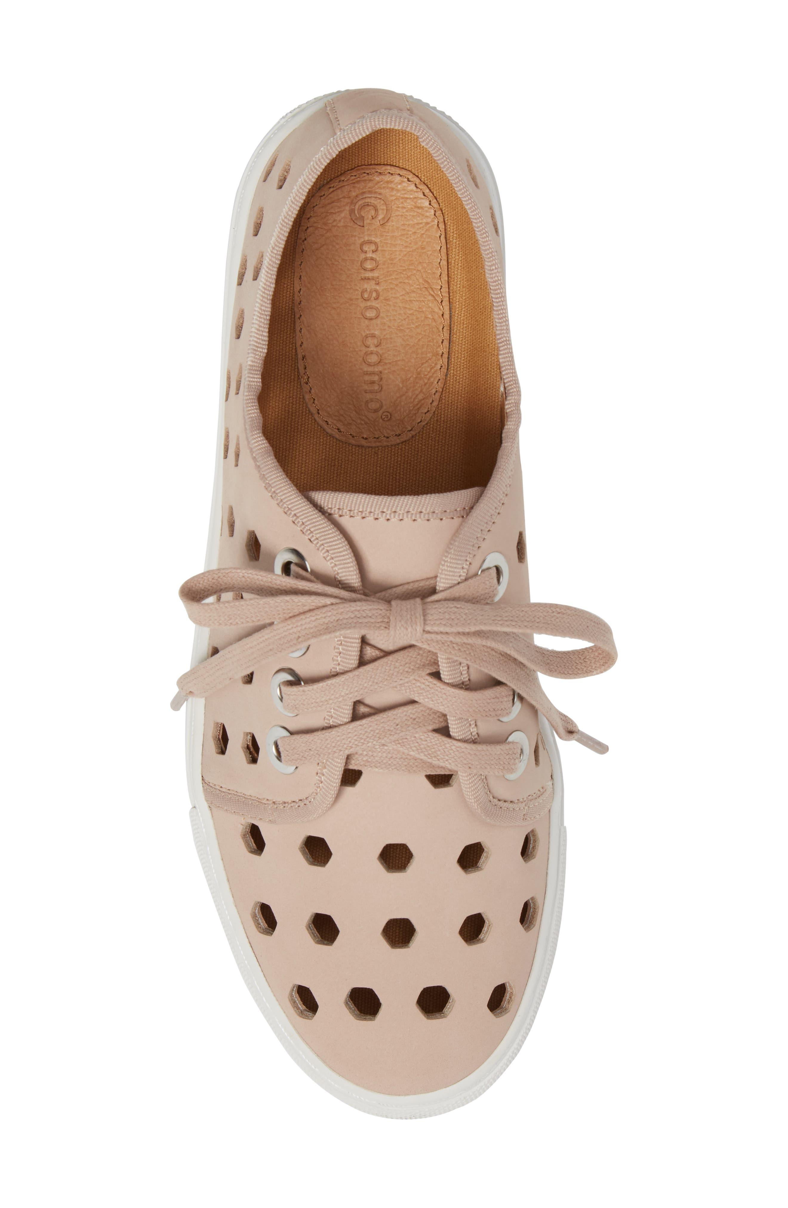 Rasta Perforated Sneaker,                             Alternate thumbnail 15, color,