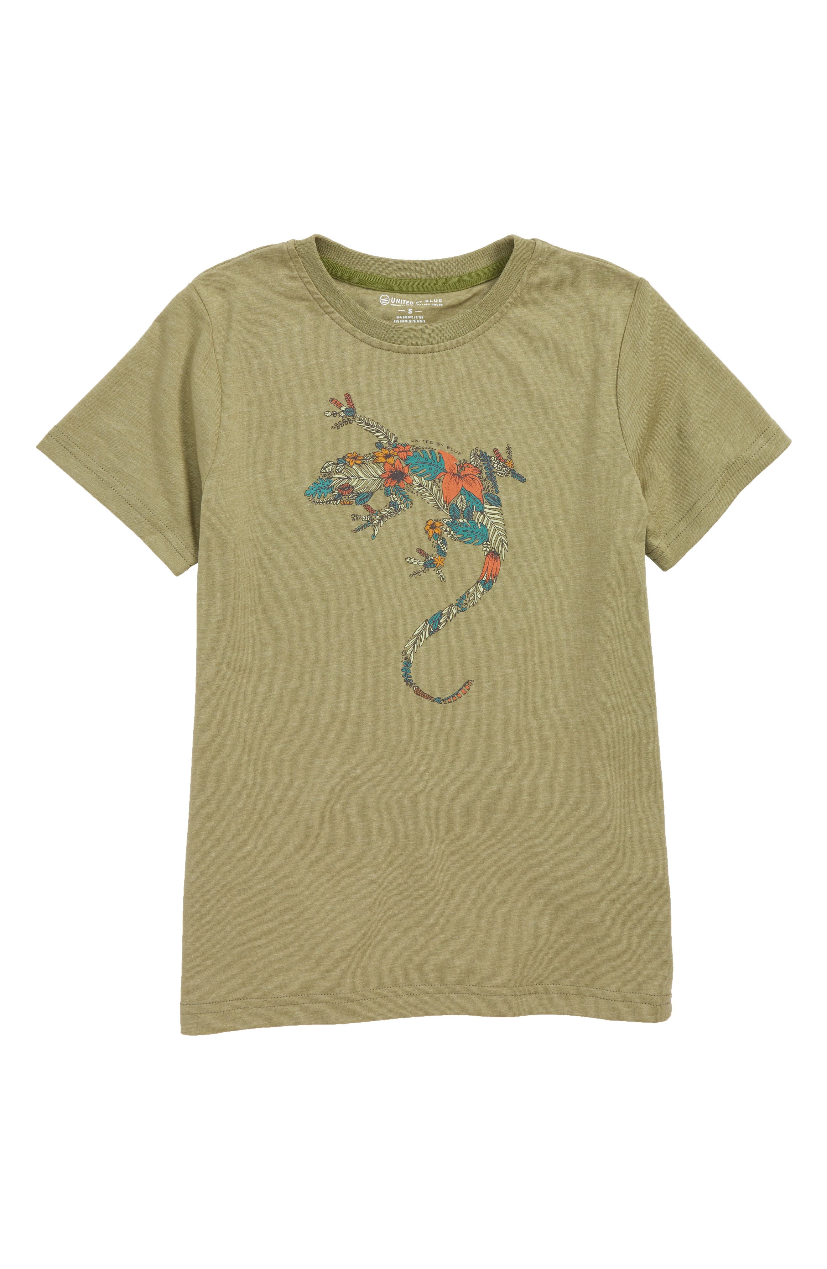Wild Gecko Graphic T-Shirt,                             Main thumbnail 1, color,                             300