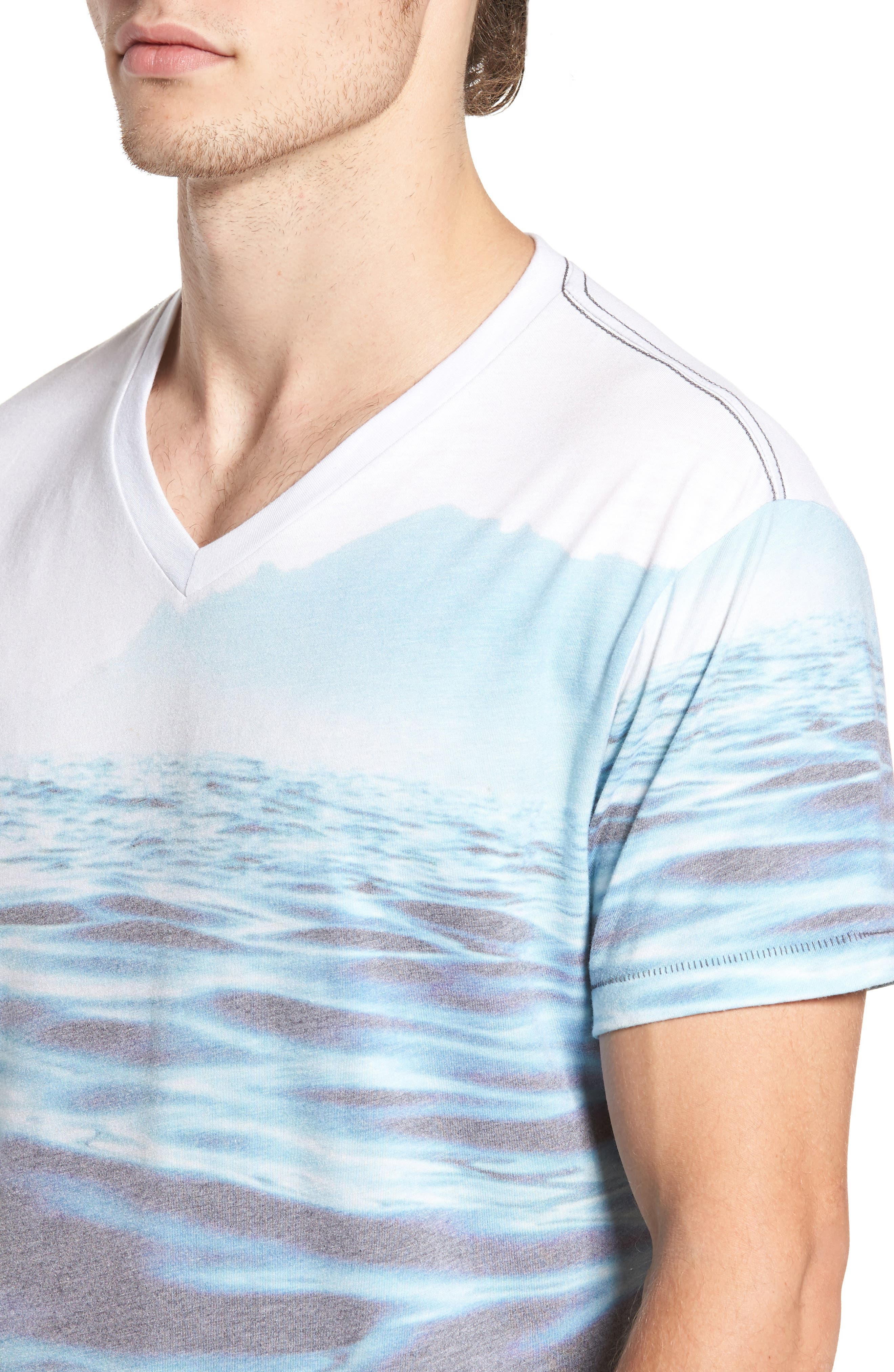 Mirage Waters T-Shirt,                             Alternate thumbnail 4, color,                             460