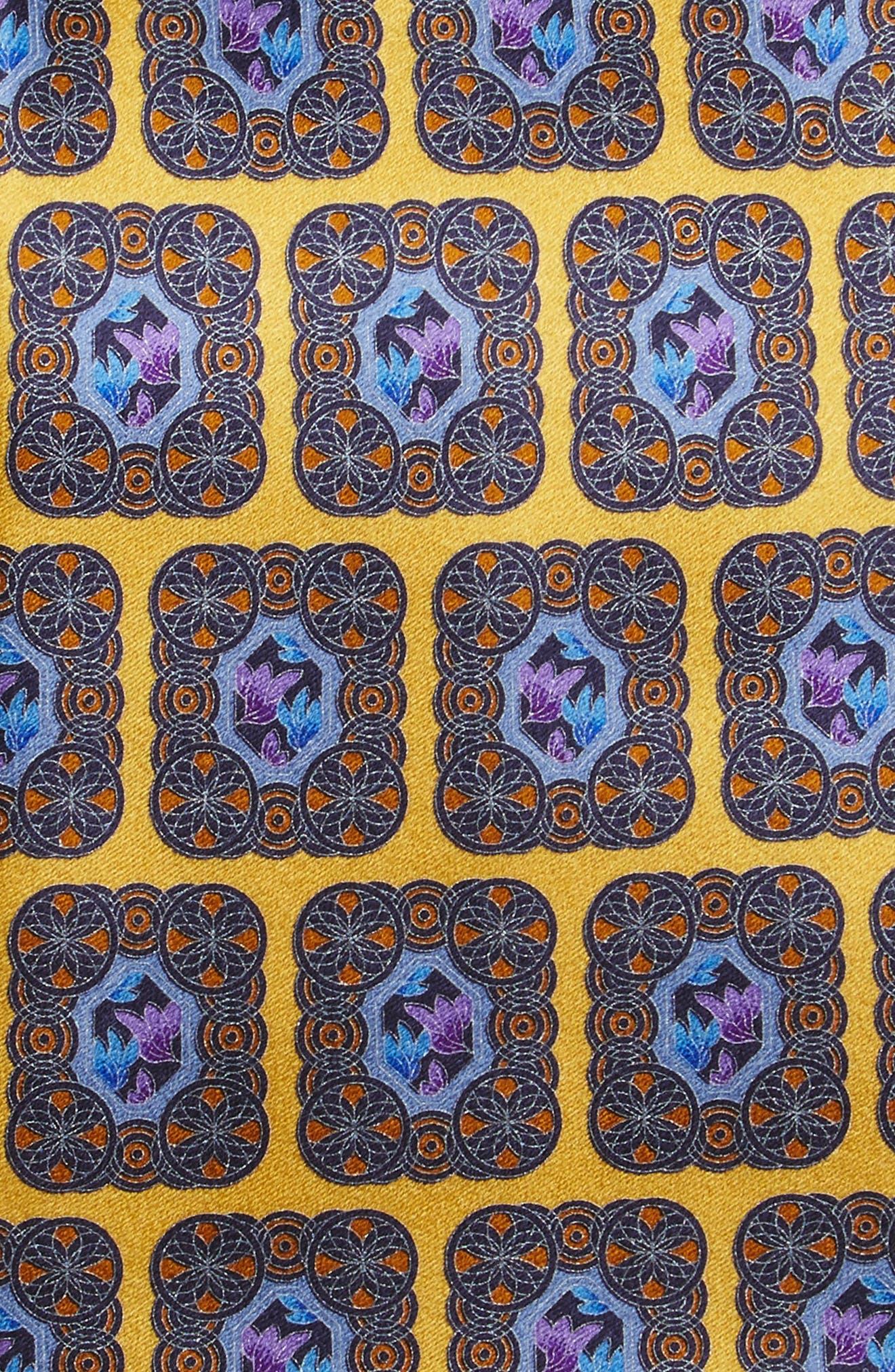 Medallion Silk Tie,                             Alternate thumbnail 10, color,