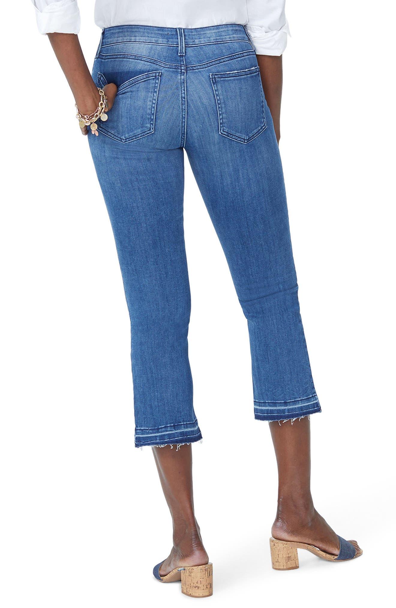 Billie Stretch Crop Bootcut Jeans,                             Alternate thumbnail 2, color,                             PALMER