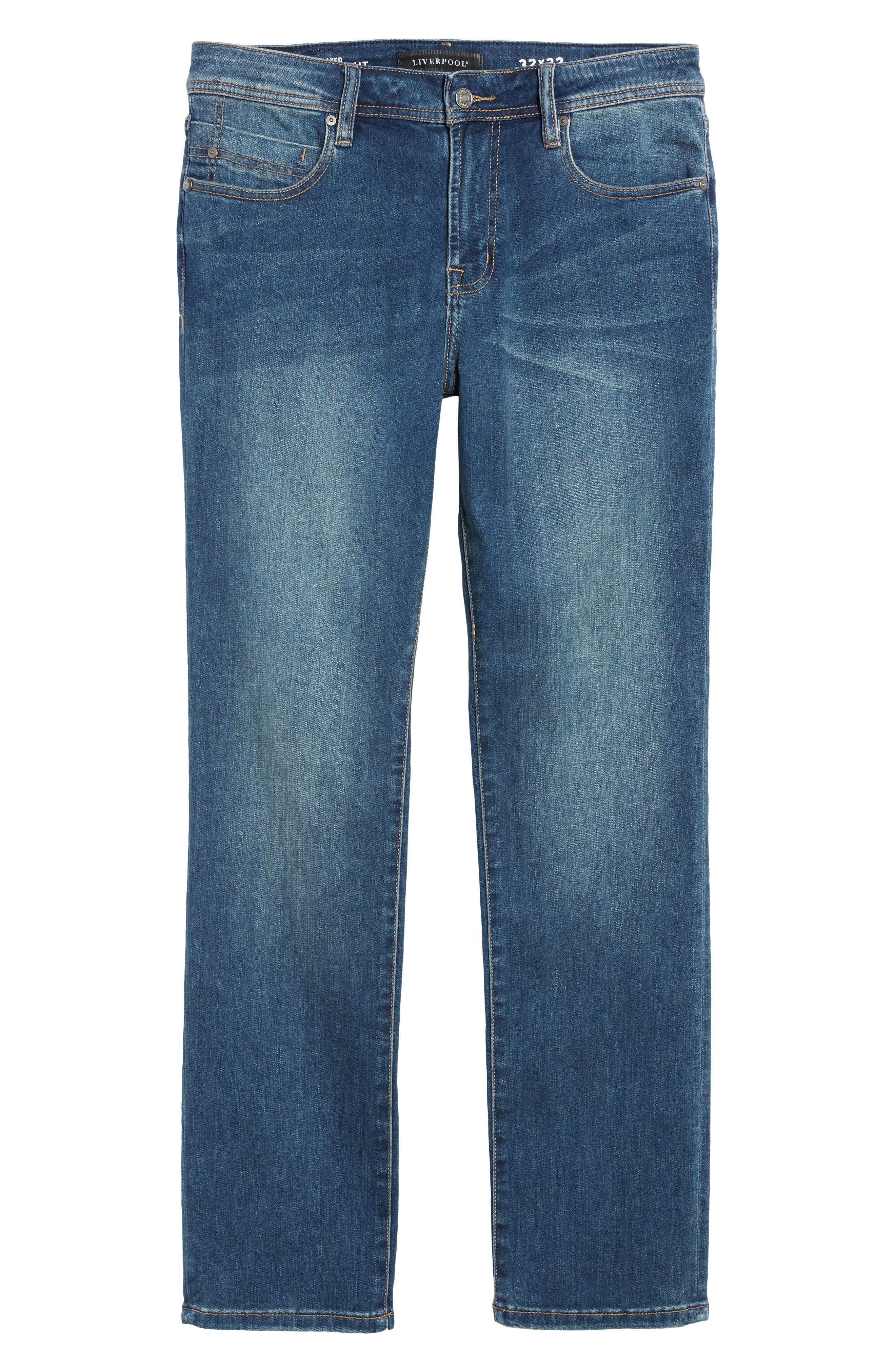 Jeans Co. Regent Relaxed Fit Jeans,                             Alternate thumbnail 6, color,                             CHATSWORTH