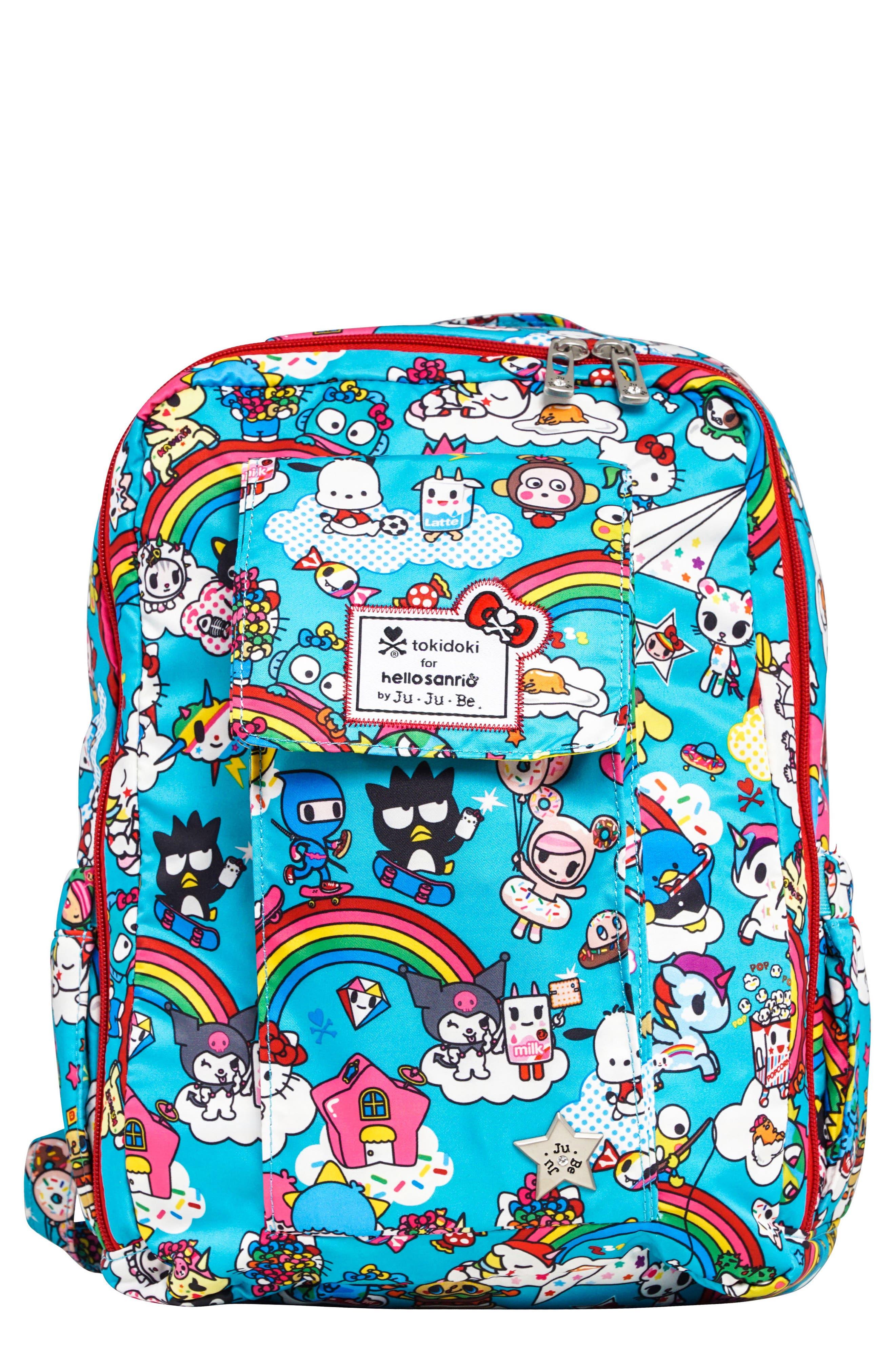 x tokidoki for Hello Sanrio Rainbow Dreams Be Mini Backpack,                             Main thumbnail 1, color,                             433