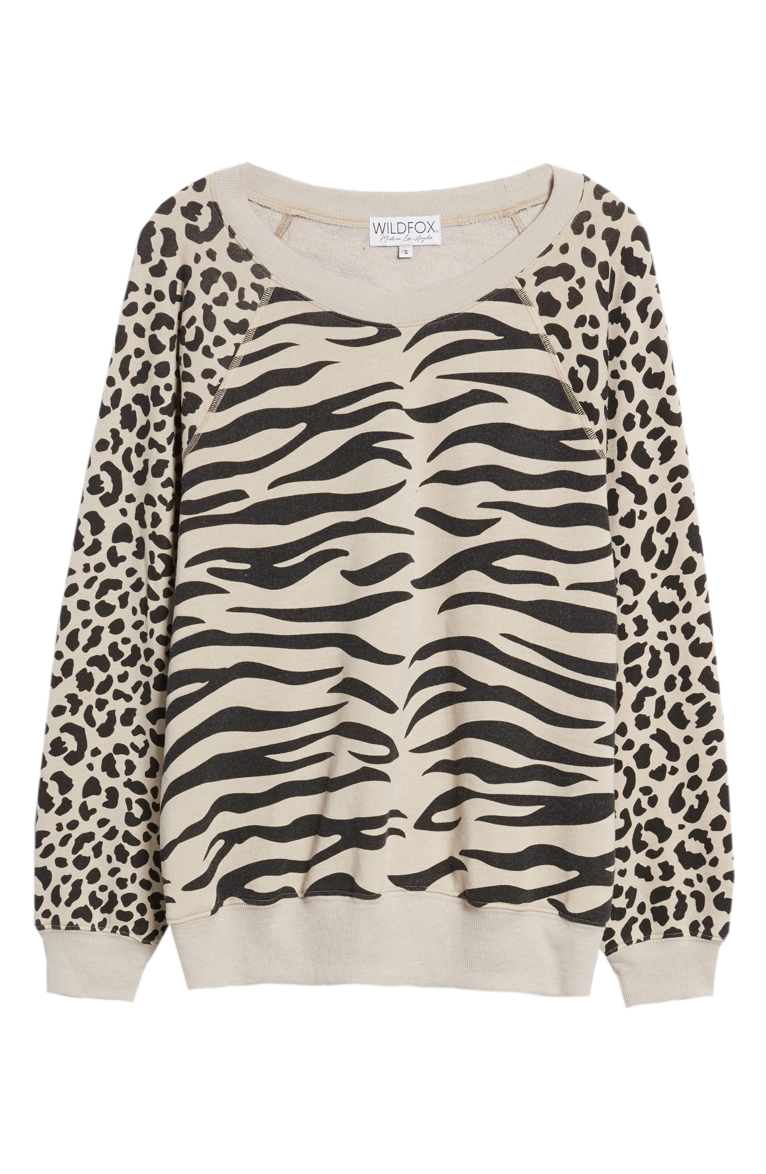 Easy Tiger Sommers Sweatshirt,                             Alternate thumbnail 6, color,                             MADERAS TAN