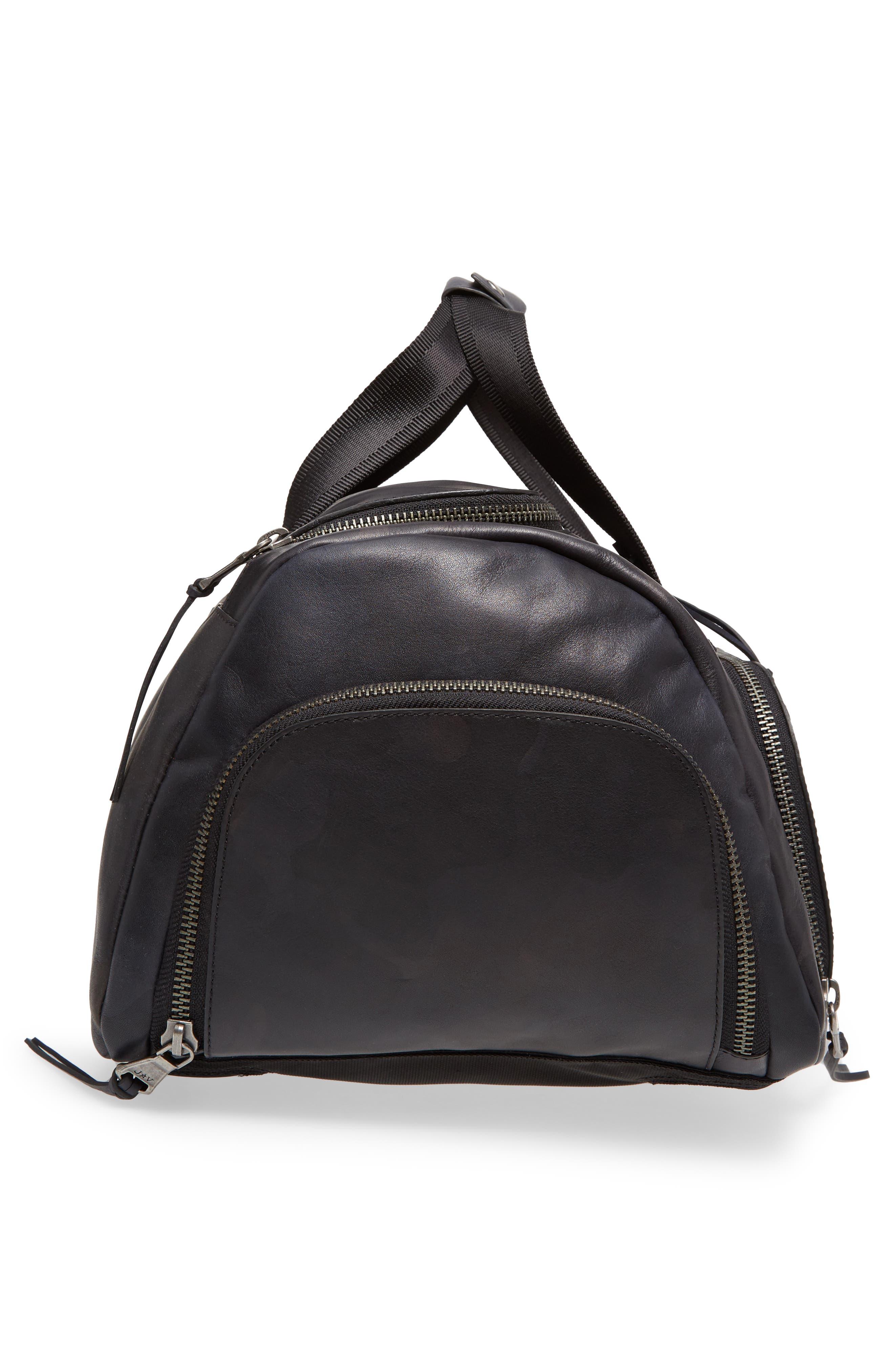 Brooklyn Suede Convertible Duffel Bag,                             Alternate thumbnail 12, color,