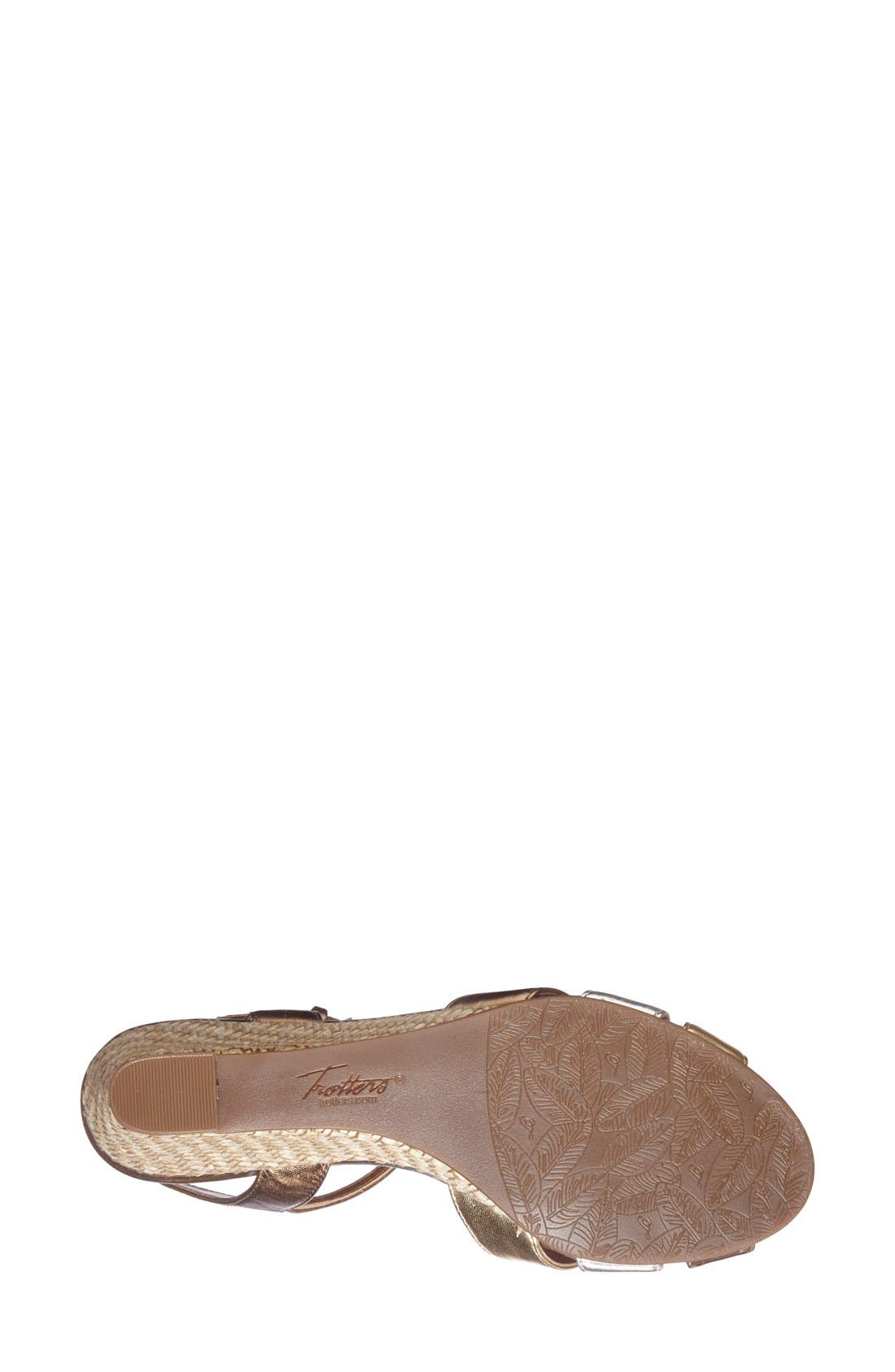 'Mickey' Wedge Sandal,                             Alternate thumbnail 15, color,