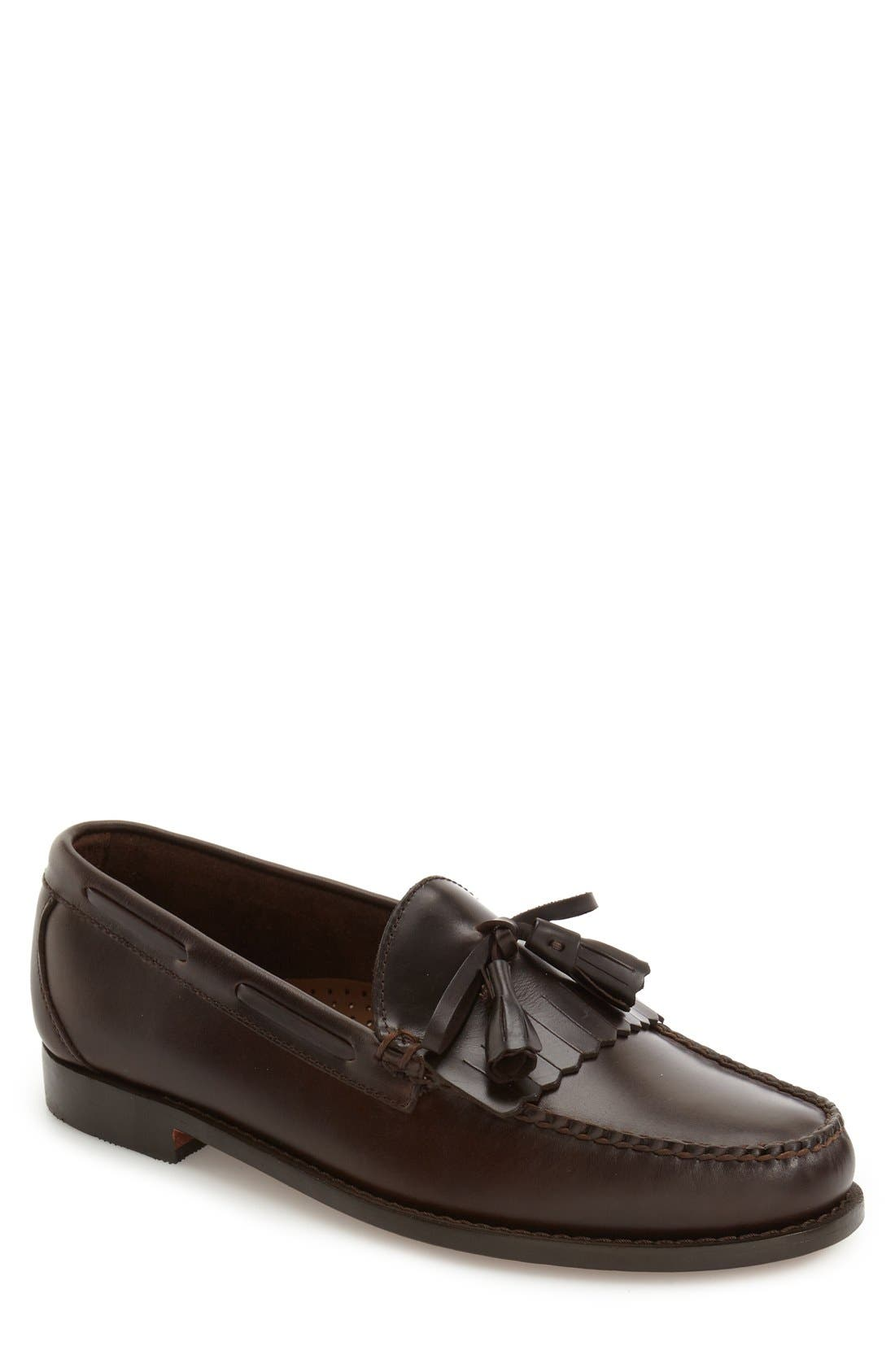 'Lawrence' Tassel Loafer,                             Main thumbnail 2, color,