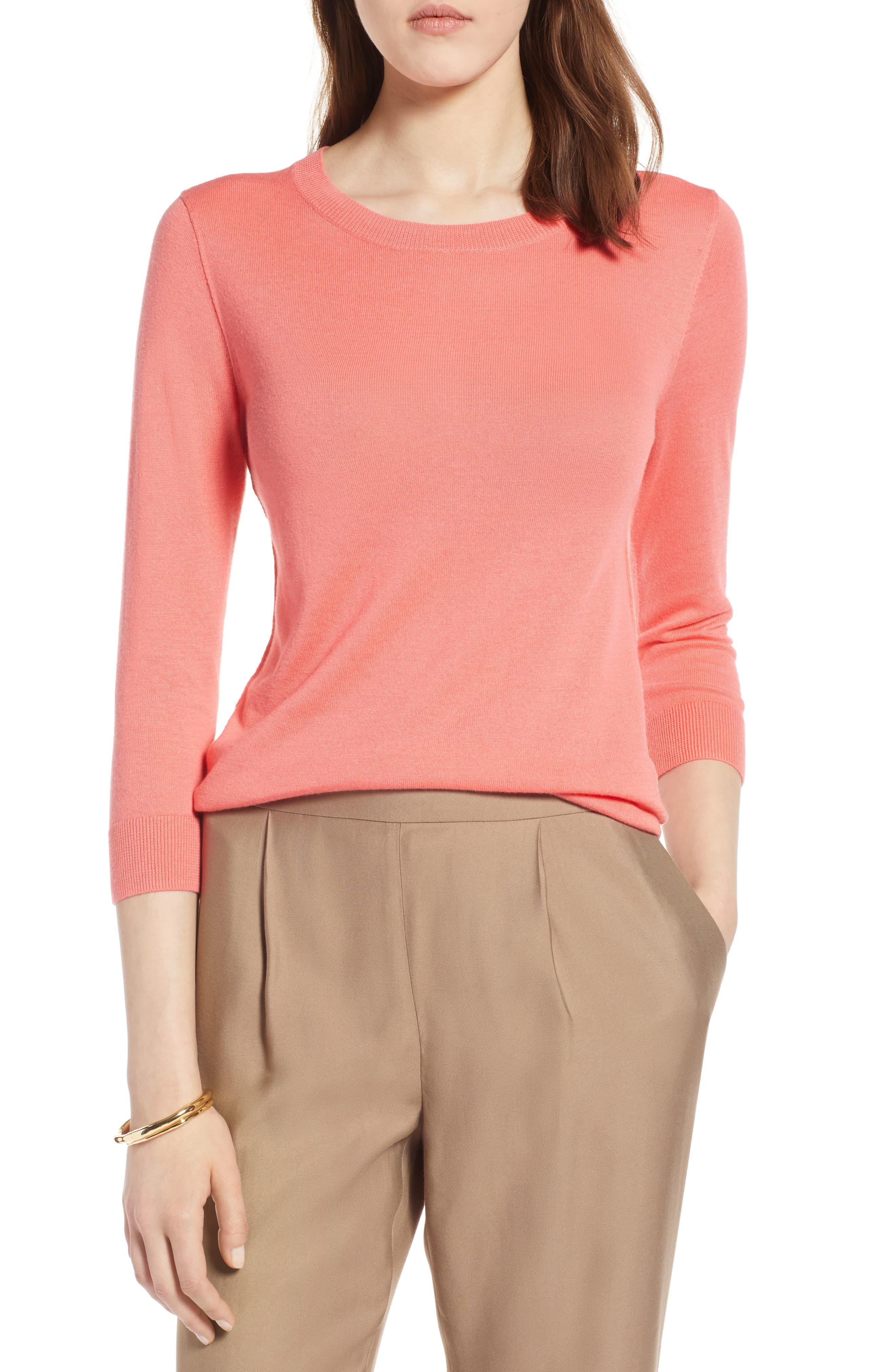 Cotton Blend Pullover,                             Main thumbnail 7, color,
