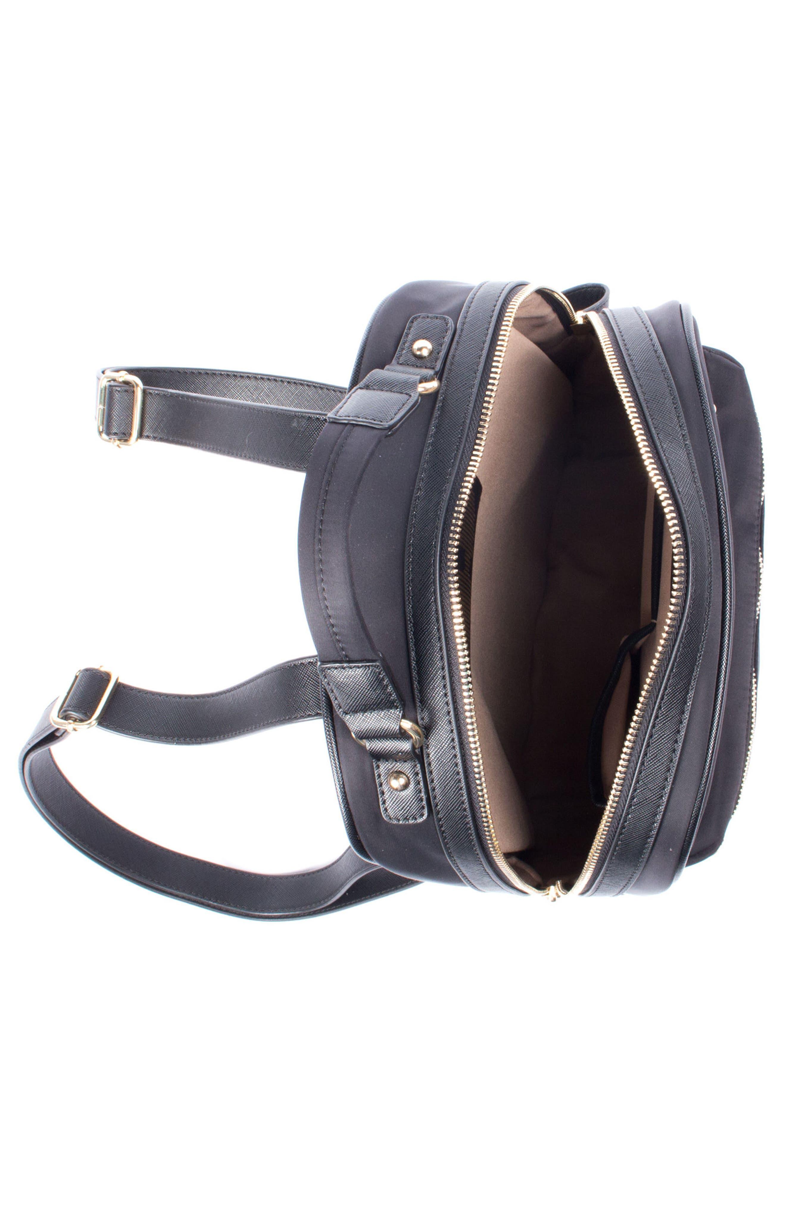 Céline Dion Presto Nylon Backpack,                             Alternate thumbnail 9, color,
