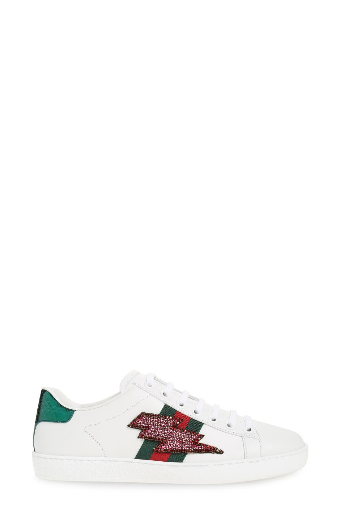 'New Ace' Low Top Sneaker,                             Alternate thumbnail 18, color,