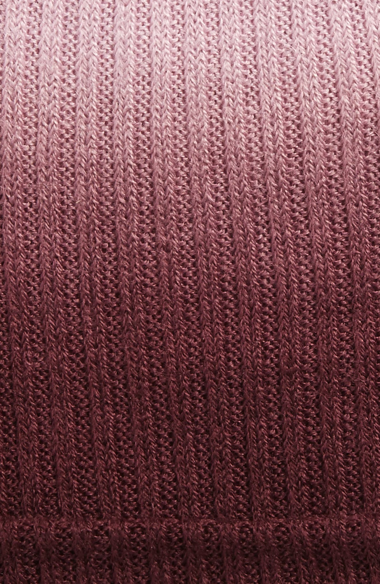 Ombré Knit Beanie,                             Alternate thumbnail 8, color,