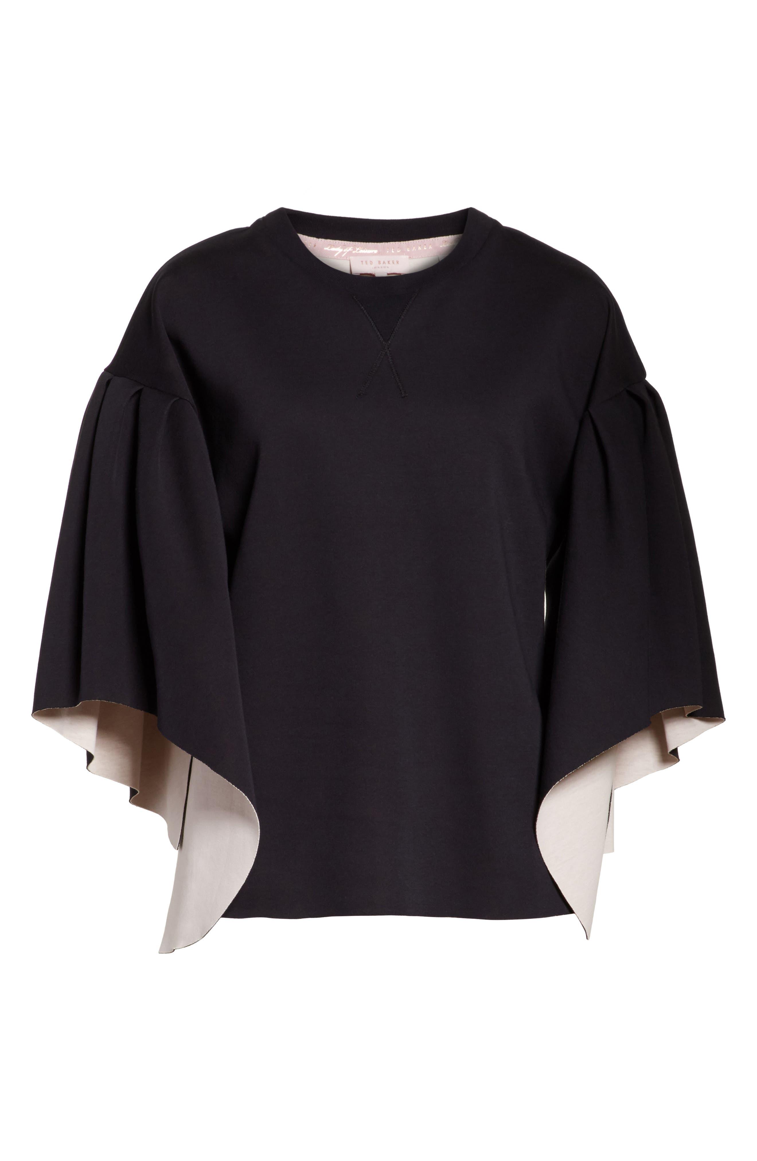 Orcher Full Sleeve Sweatshirt,                             Alternate thumbnail 6, color,                             001