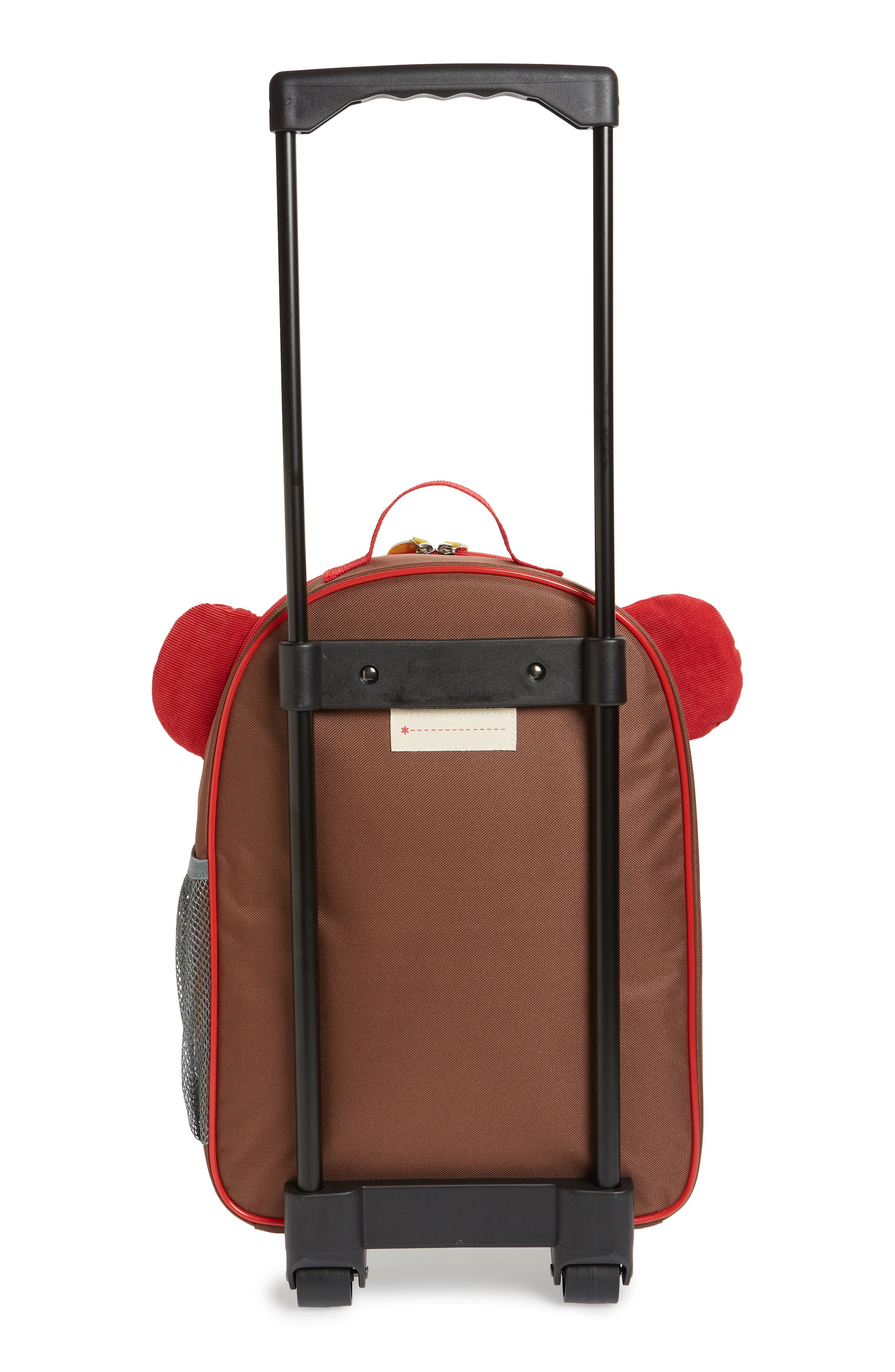 Monkey Rolling Luggage,                             Alternate thumbnail 3, color,                             BROWN