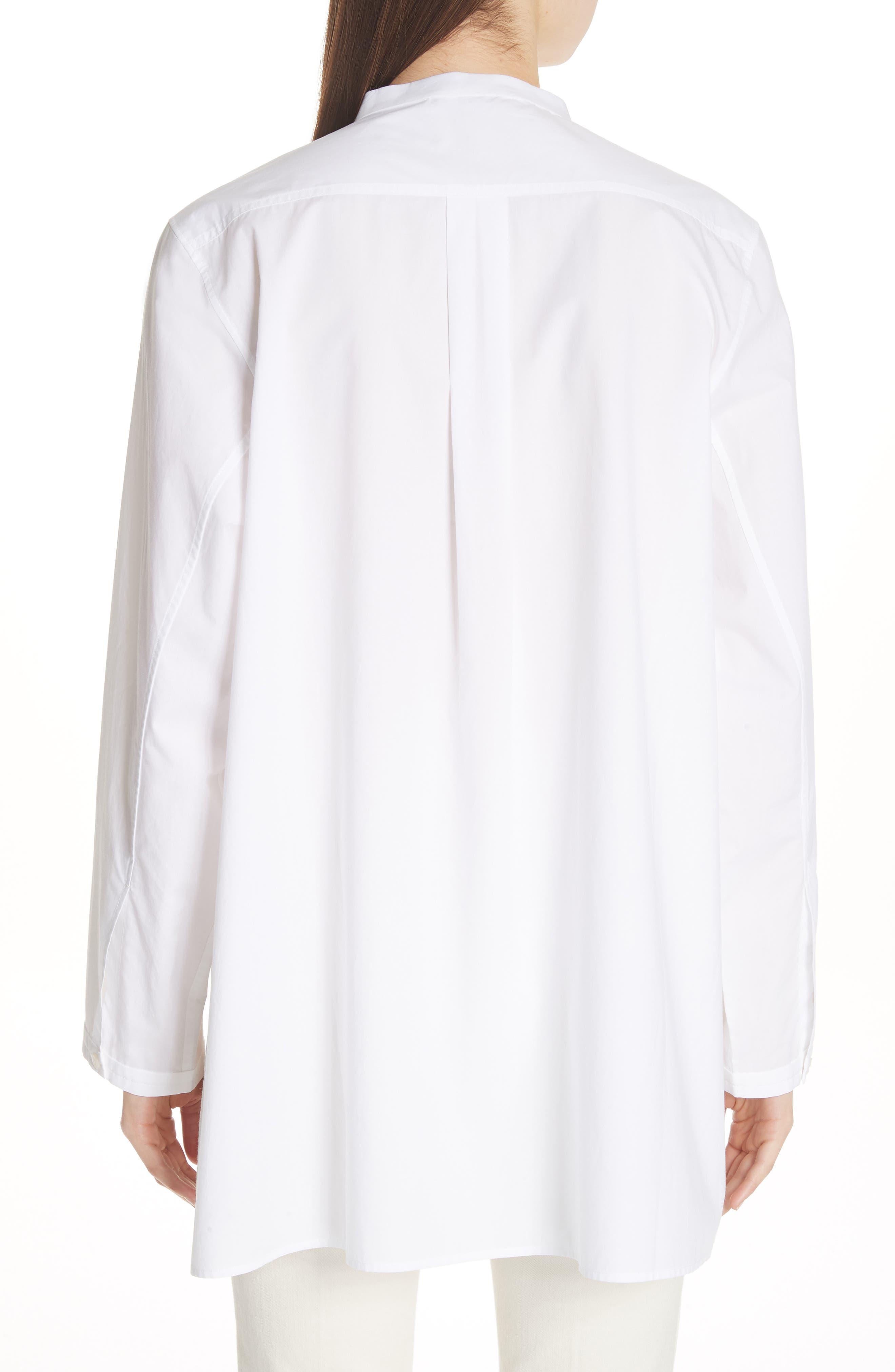 Lysanne Poplin Shirt,                             Alternate thumbnail 2, color,                             100