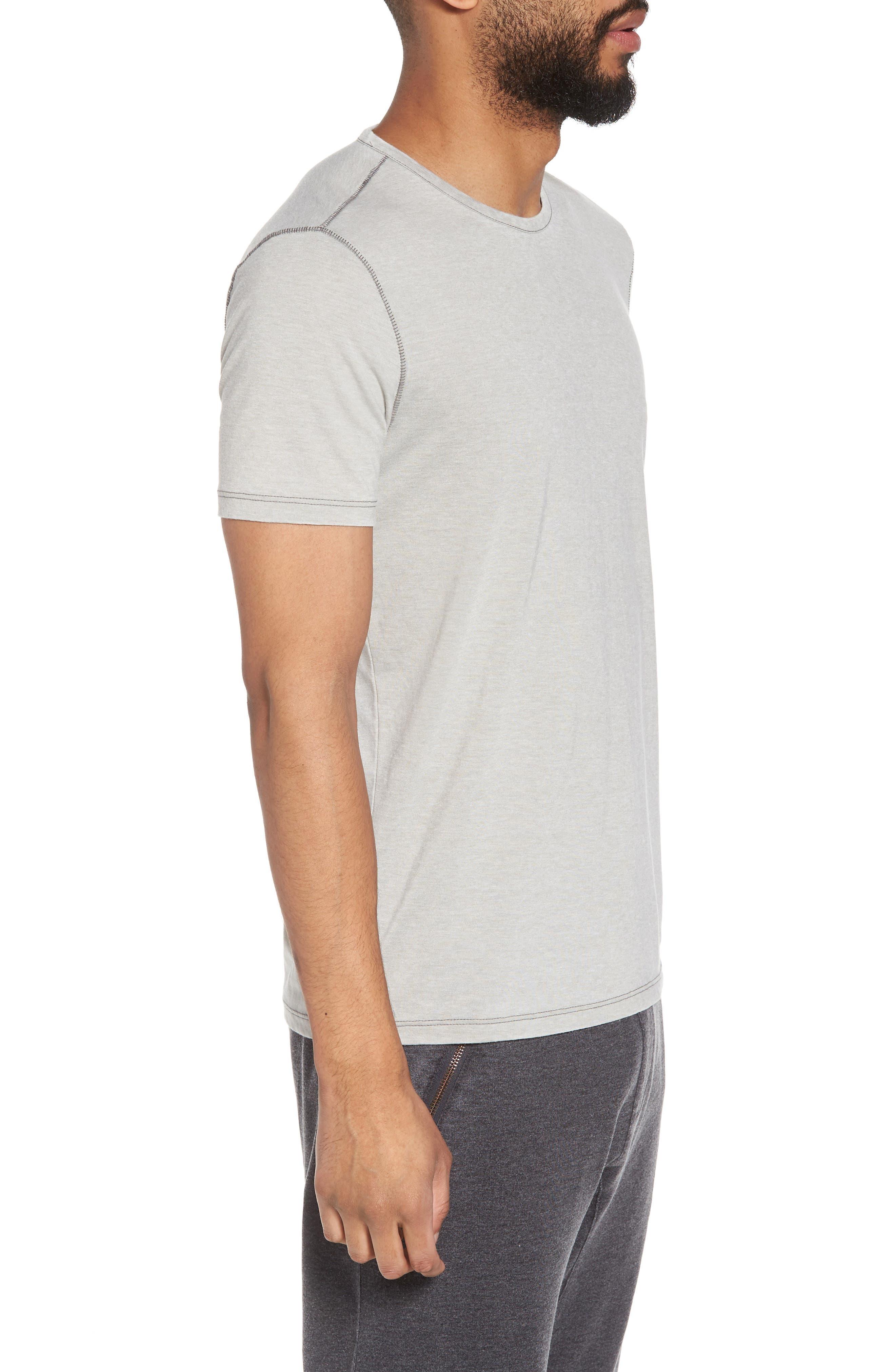 Slim Fit Crewneck T-Shirt,                             Alternate thumbnail 9, color,