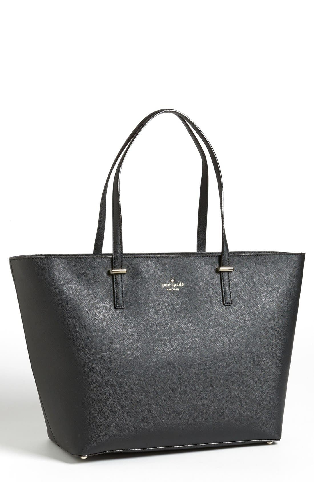 'medium cedar street harmony' leather tote,                             Main thumbnail 1, color,                             001