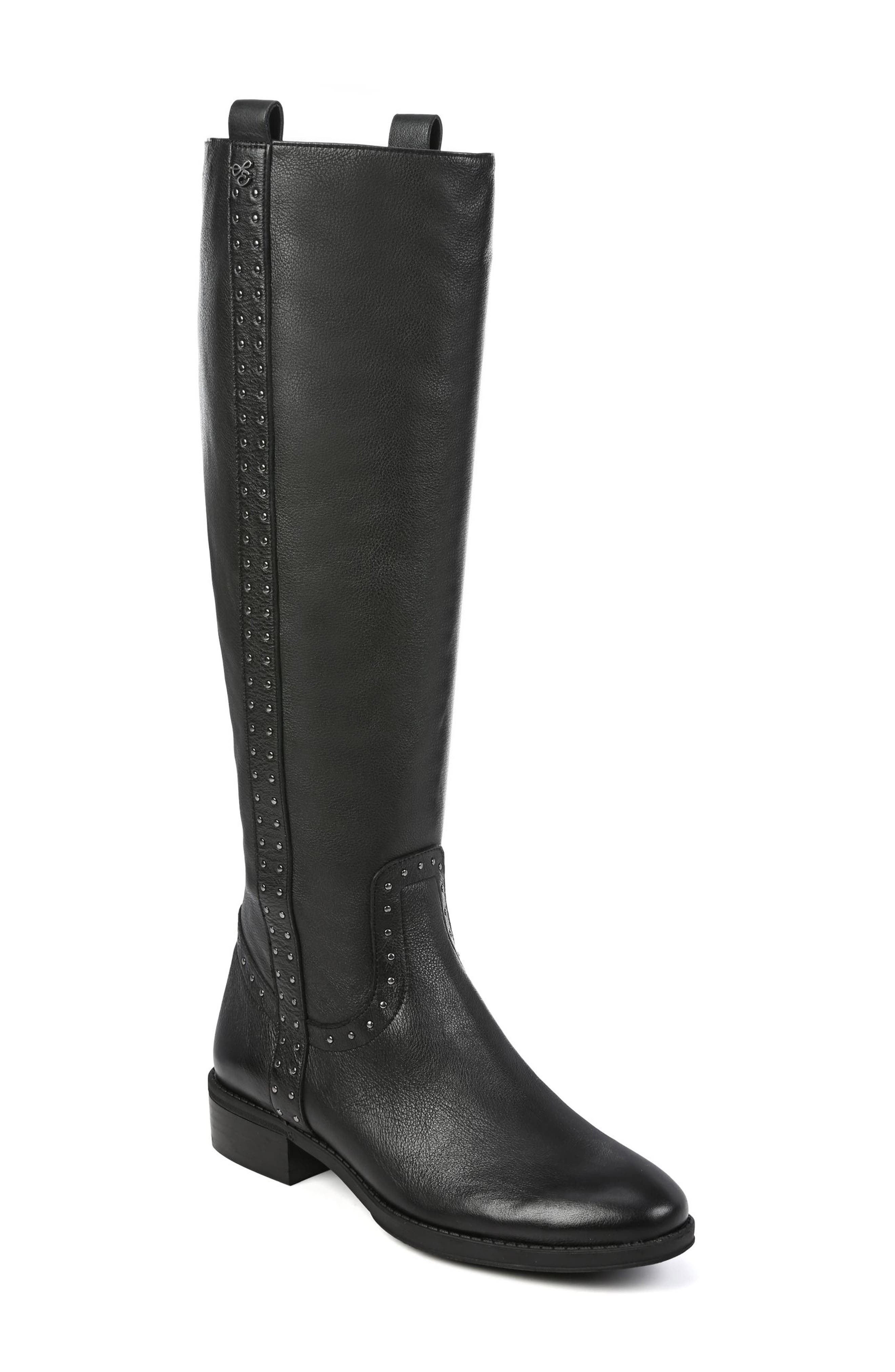 Sam Edelman Prina Riding Boot- Black